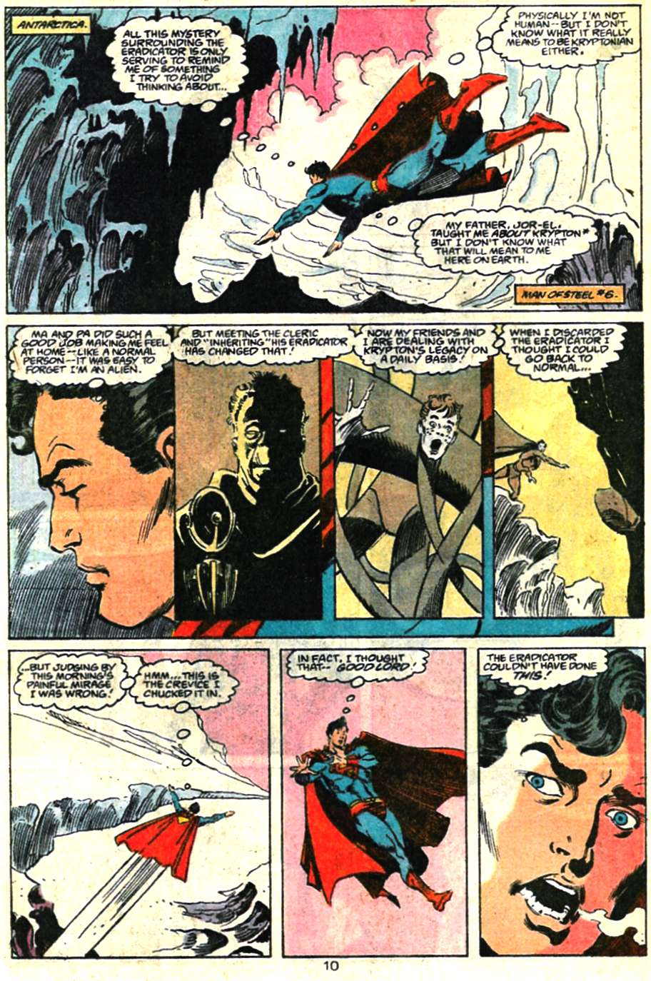 Read online Adventures of Superman (1987) comic -  Issue #460 - 11