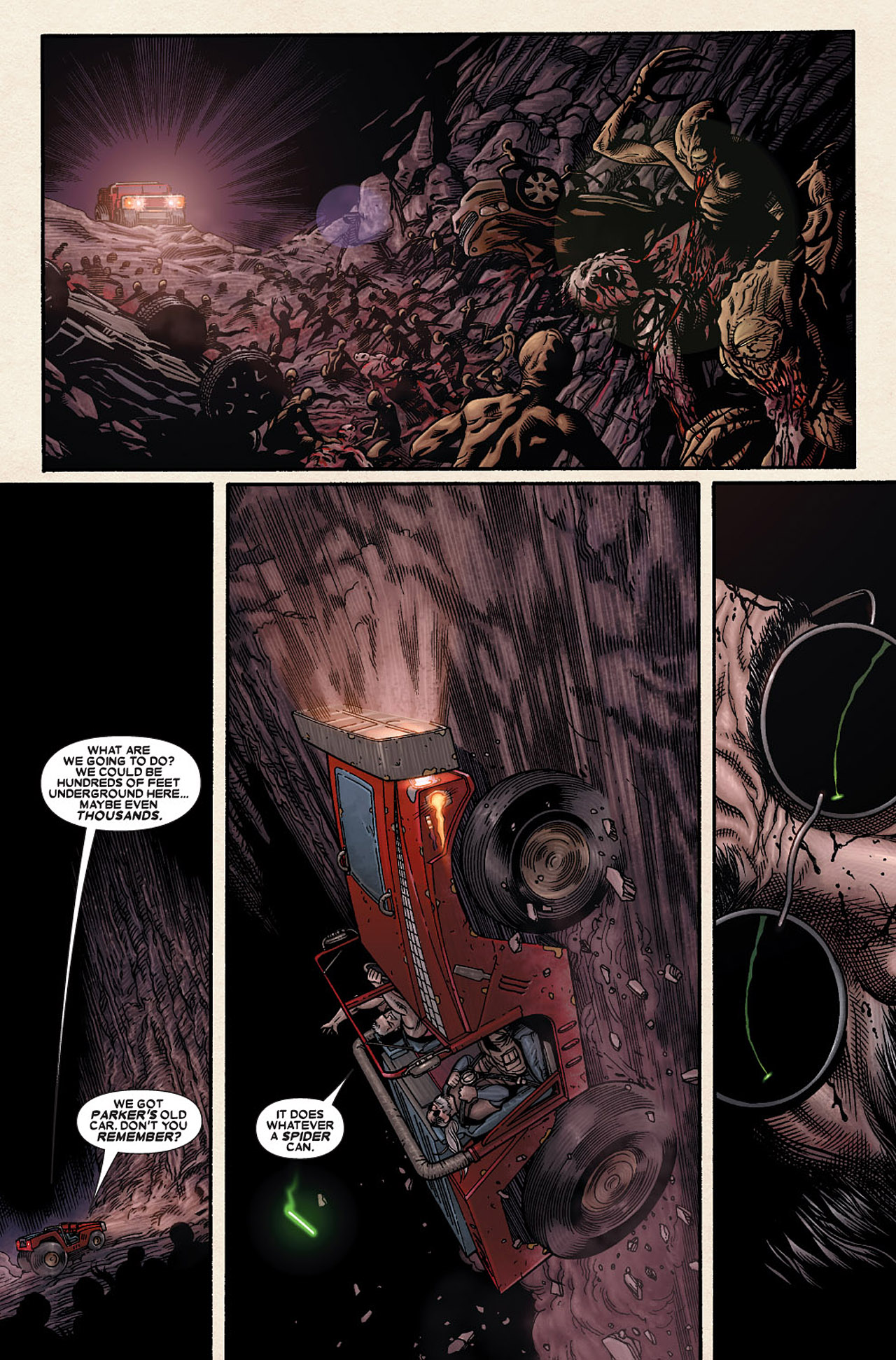 Read online Wolverine: Old Man Logan comic -  Issue # Full - 82