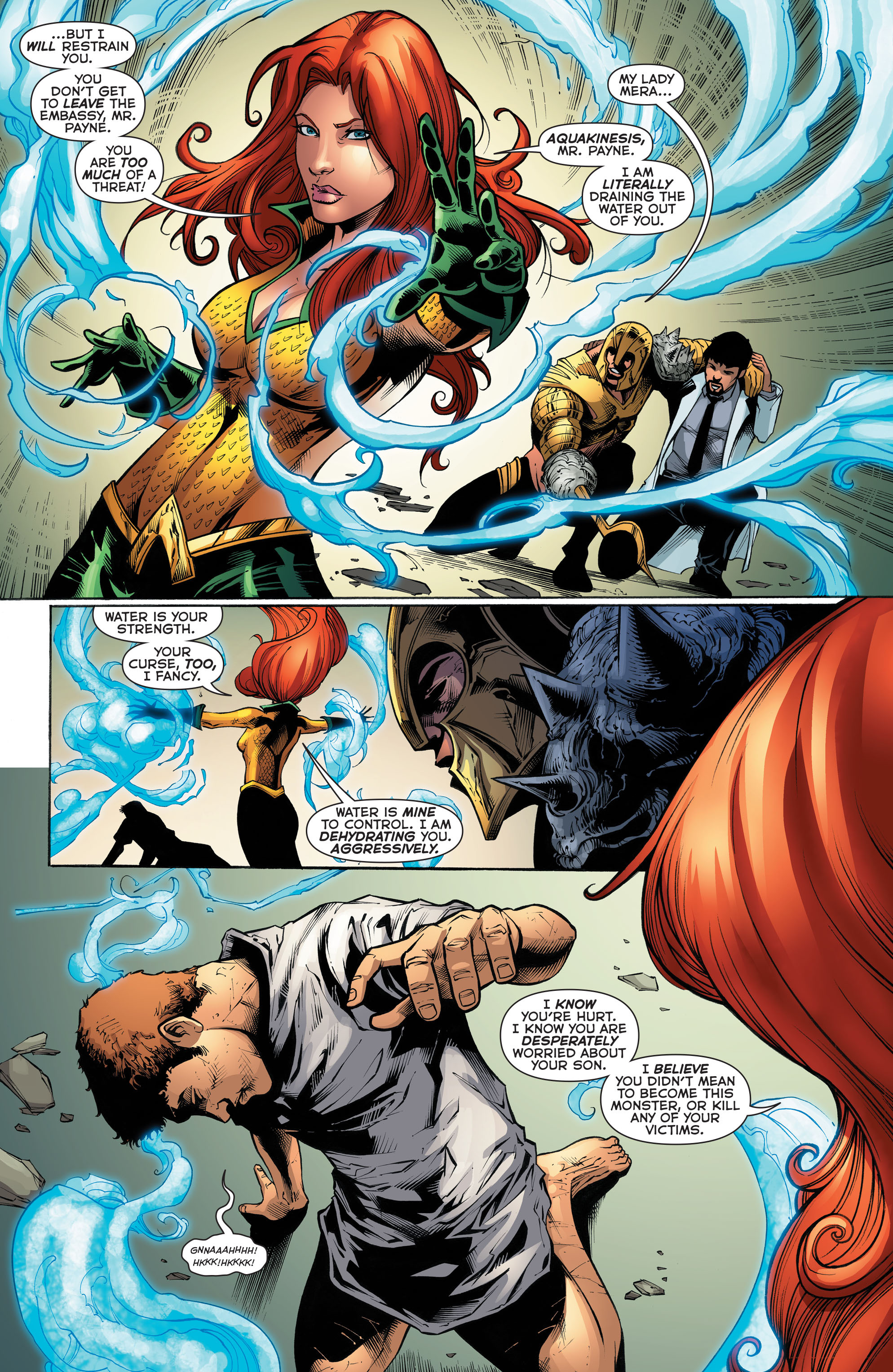 Read online Aquaman (2011) comic -  Issue #52 - 8