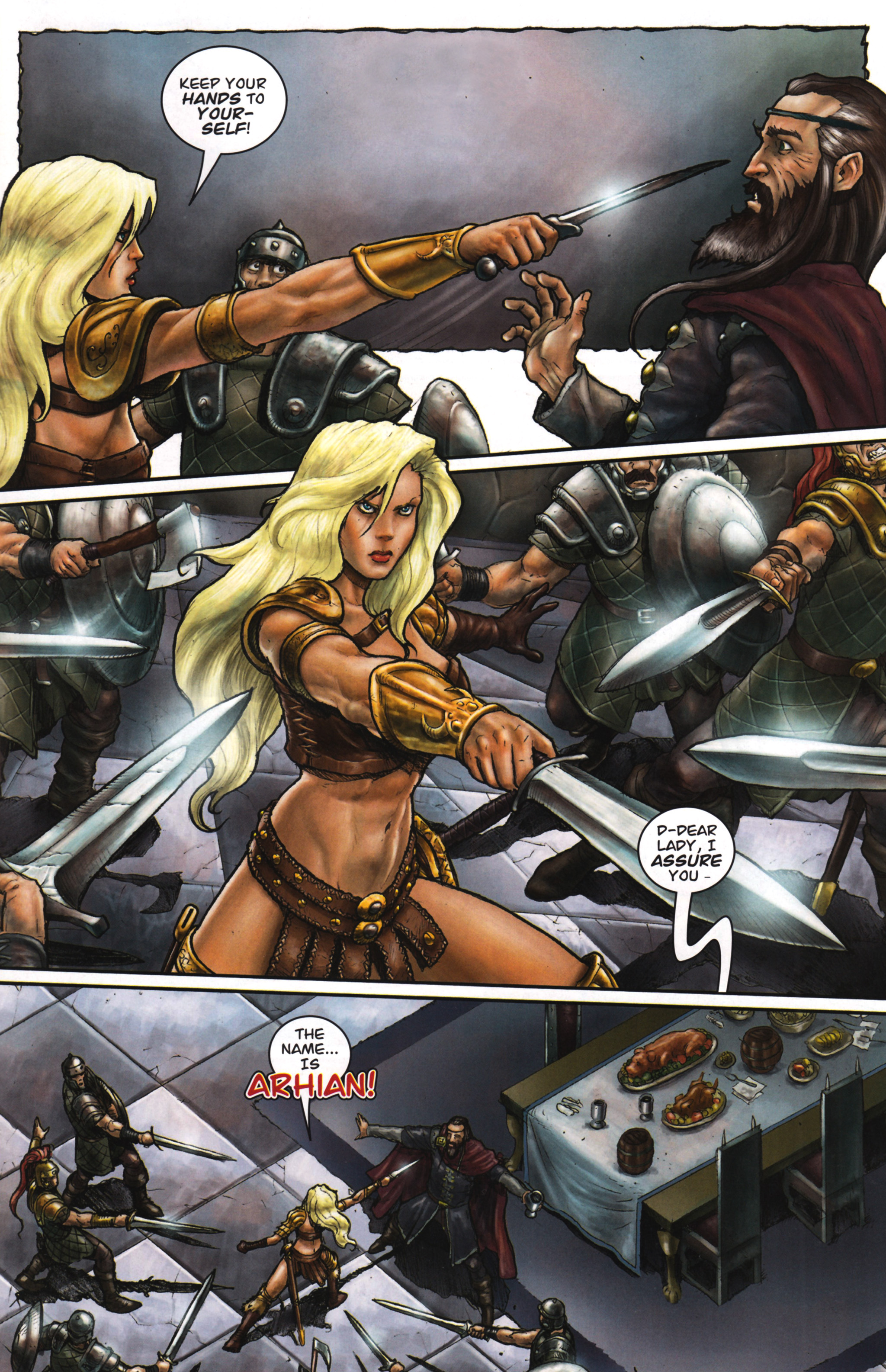 Read online Arhian: Head Huntress comic -  Issue #1 - 29