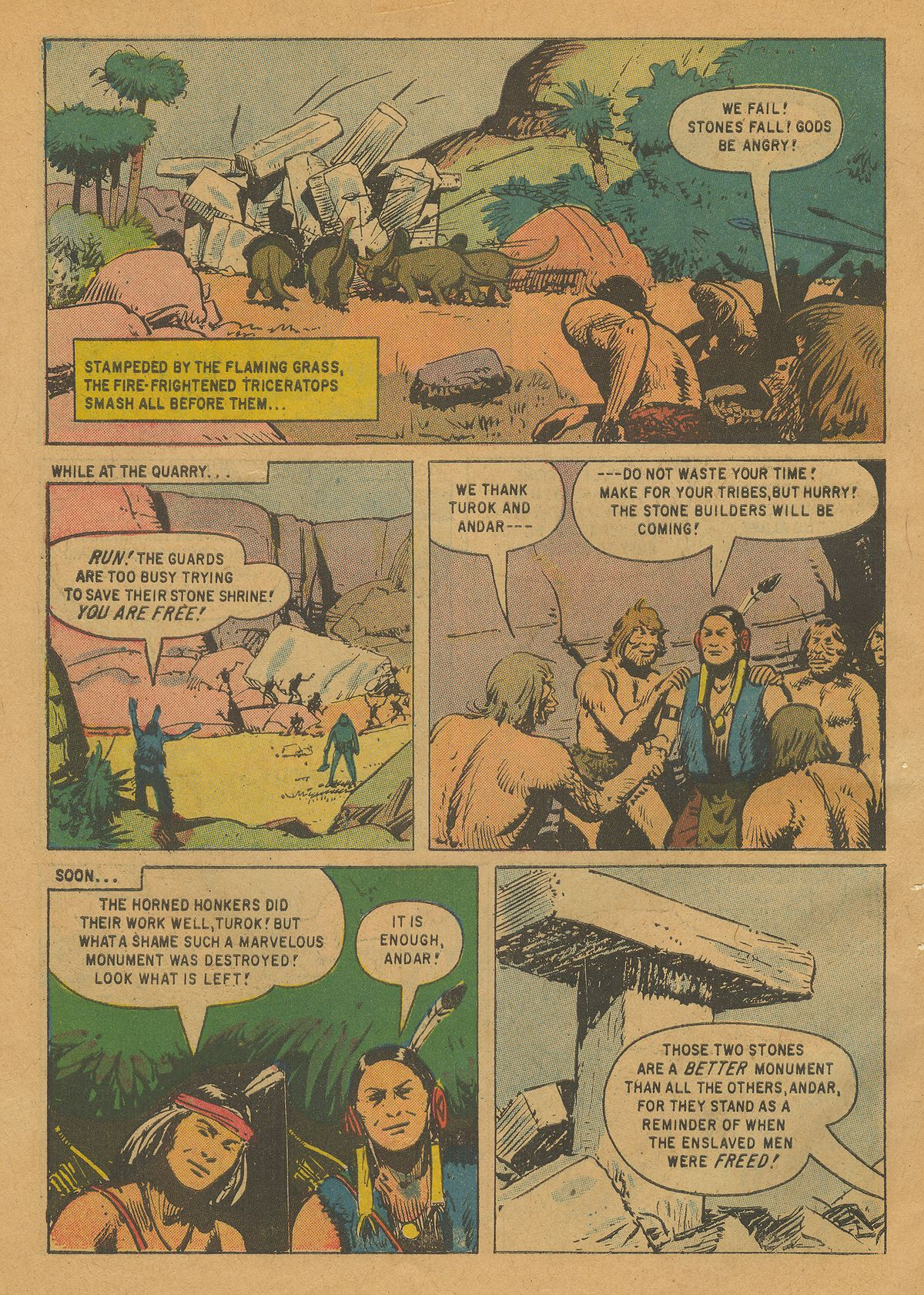 Read online Turok, Son of Stone comic -  Issue #22 - 34