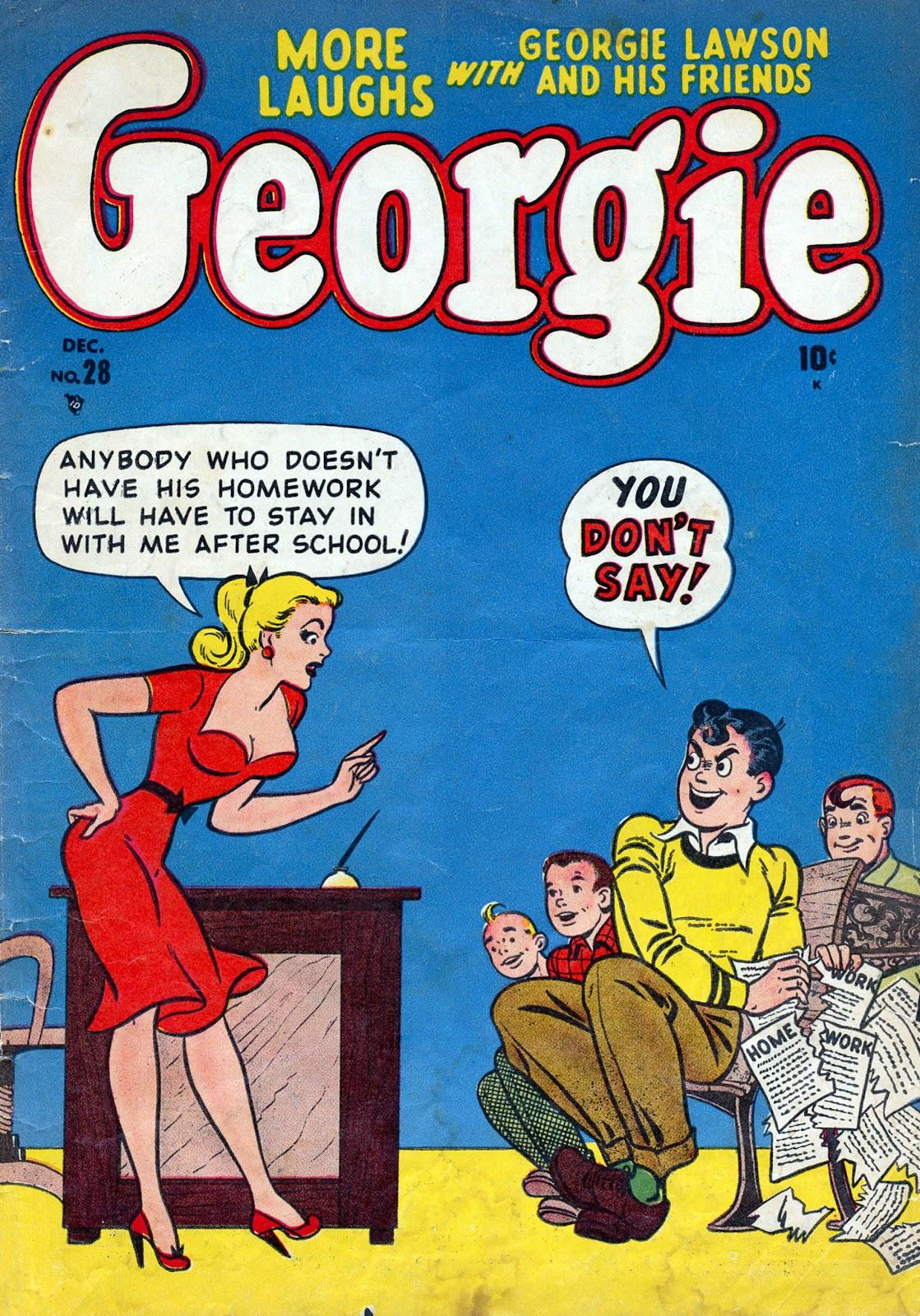 Georgie Comics (1949) issue 28 - Page 1