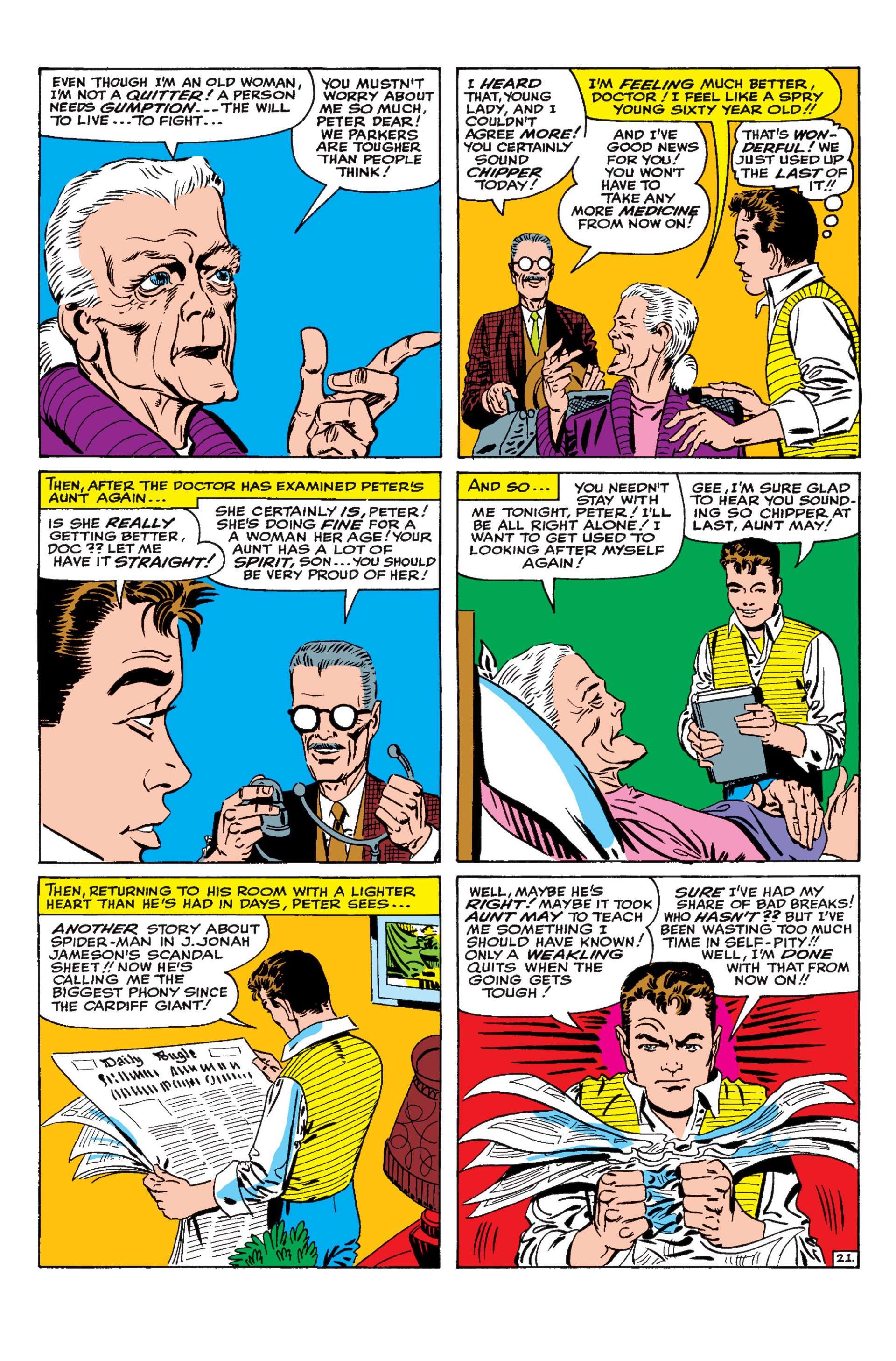 The Amazing Spider-Man (1963) 18 Page 21