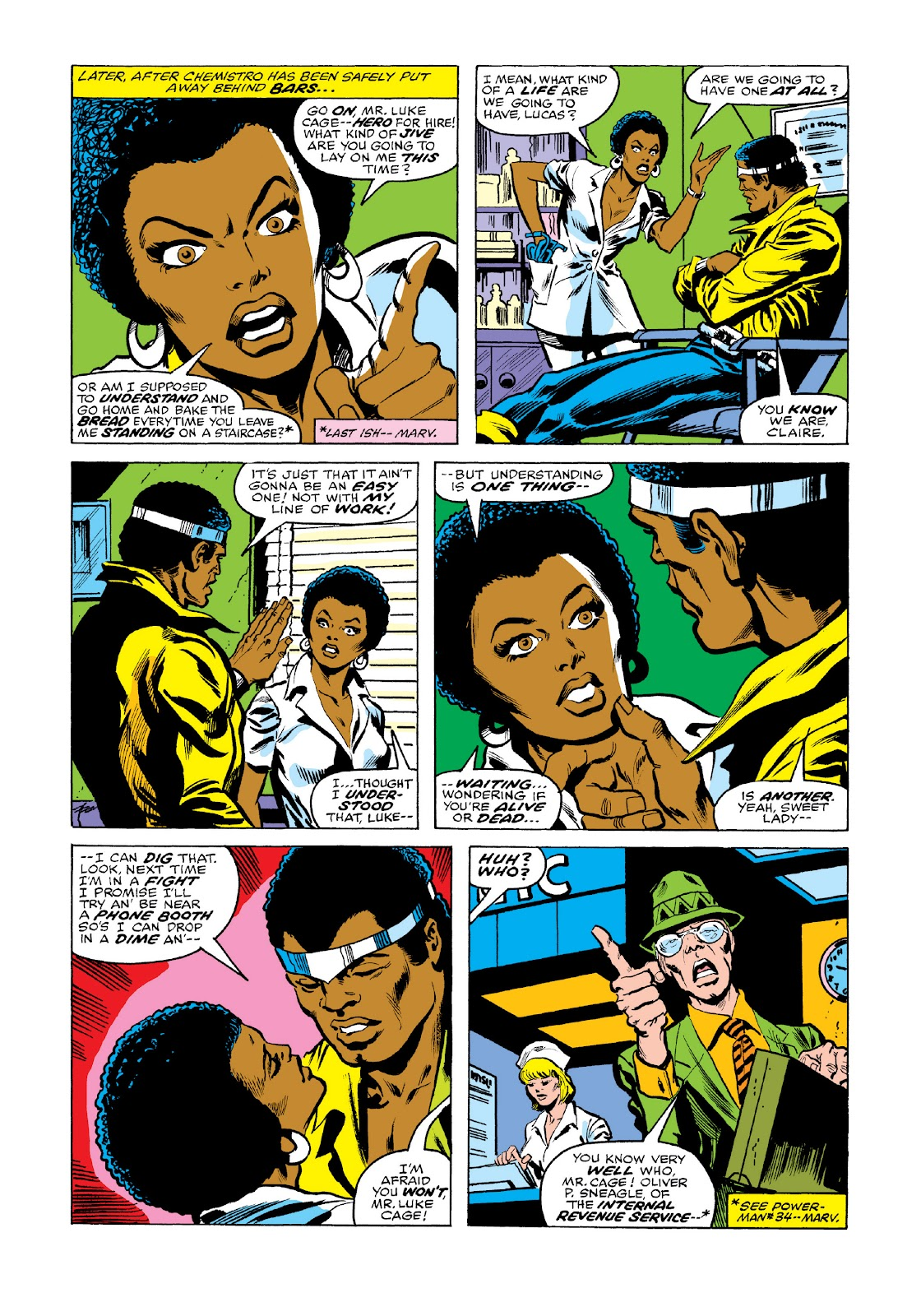 Read online Marvel Masterworks: Luke Cage, Power Man comic -  Issue # TPB 3 (Part 2) - 50
