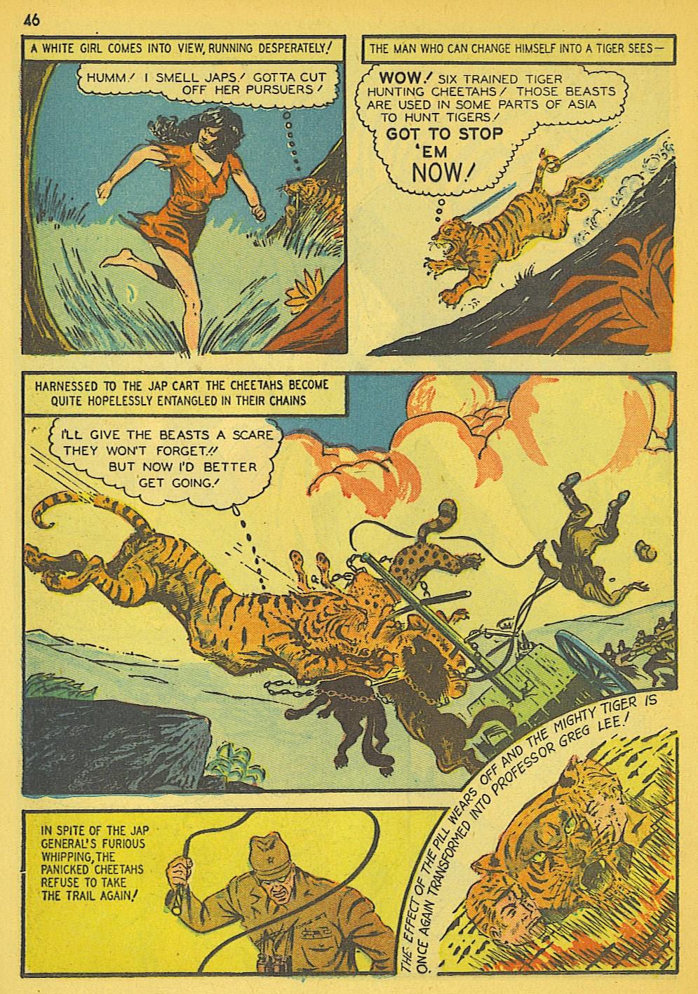 Read online Super-Magician Comics comic -  Issue #19 - 38