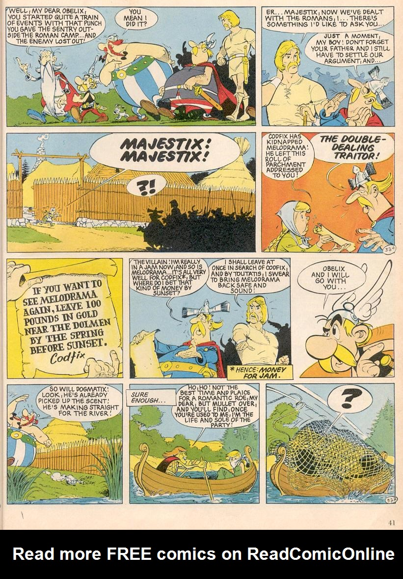 Read online Asterix comic -  Issue #25 - 38