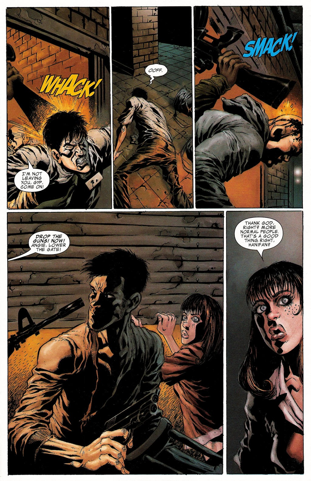 Read online Zombie (2006) comic -  Issue #1 - 19