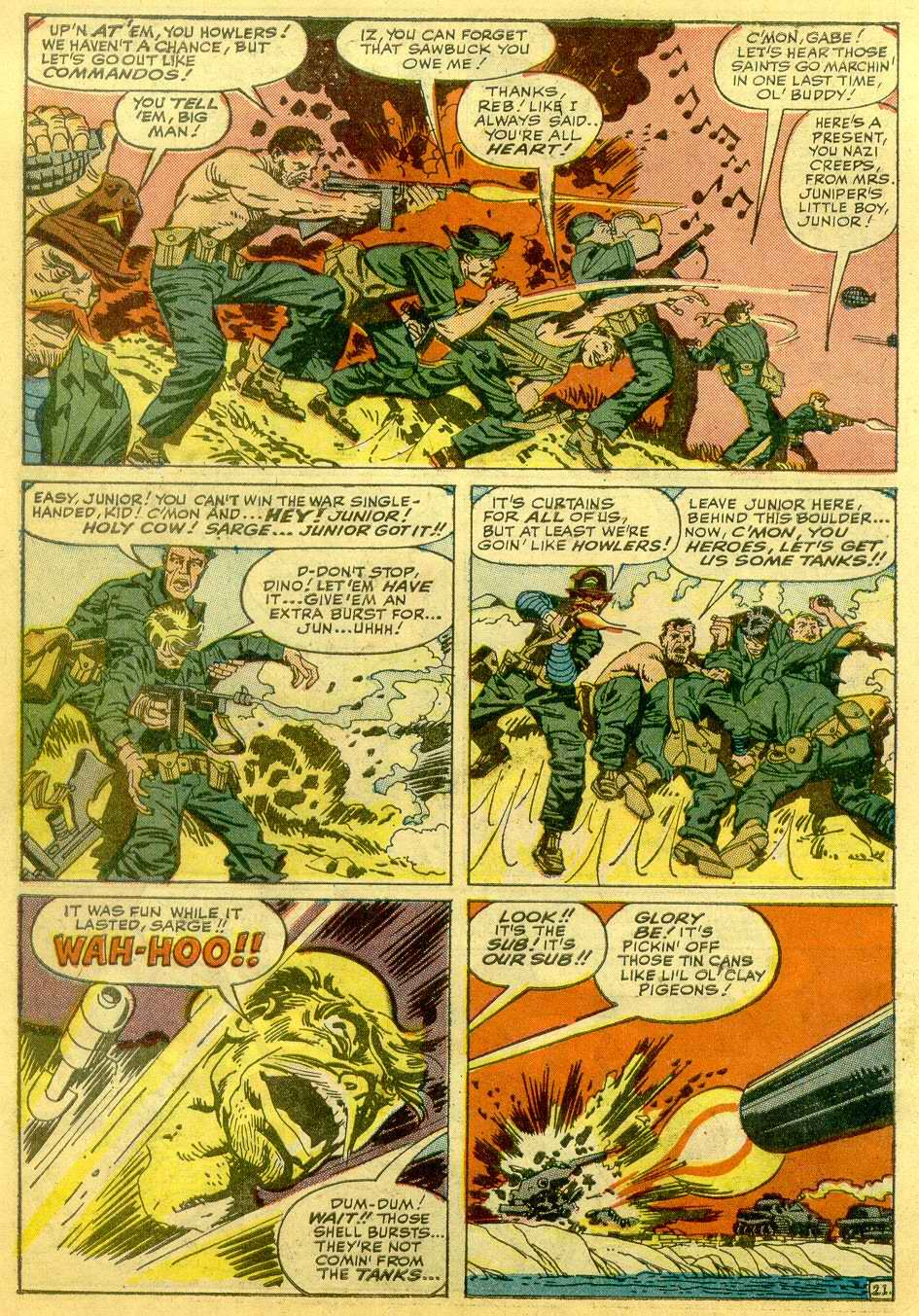 Read online Sgt. Fury comic -  Issue # _Annual 1 - 44