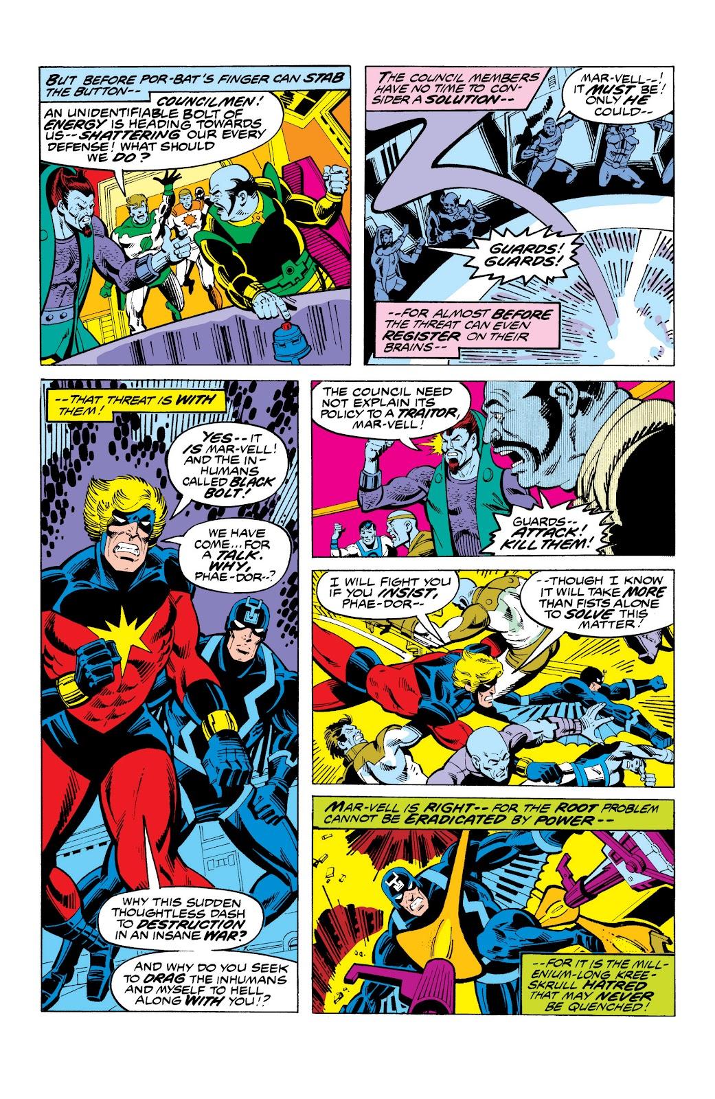 Read online Marvel Masterworks: The Inhumans comic -  Issue # TPB 2 (Part 3) - 38