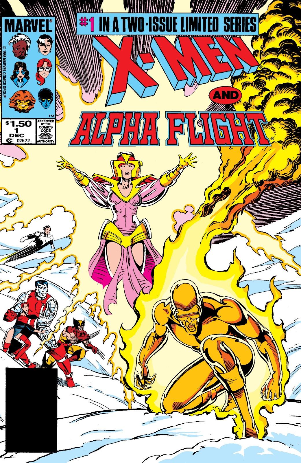 X-Men/Alpha Flight (1985) 1 Page 1