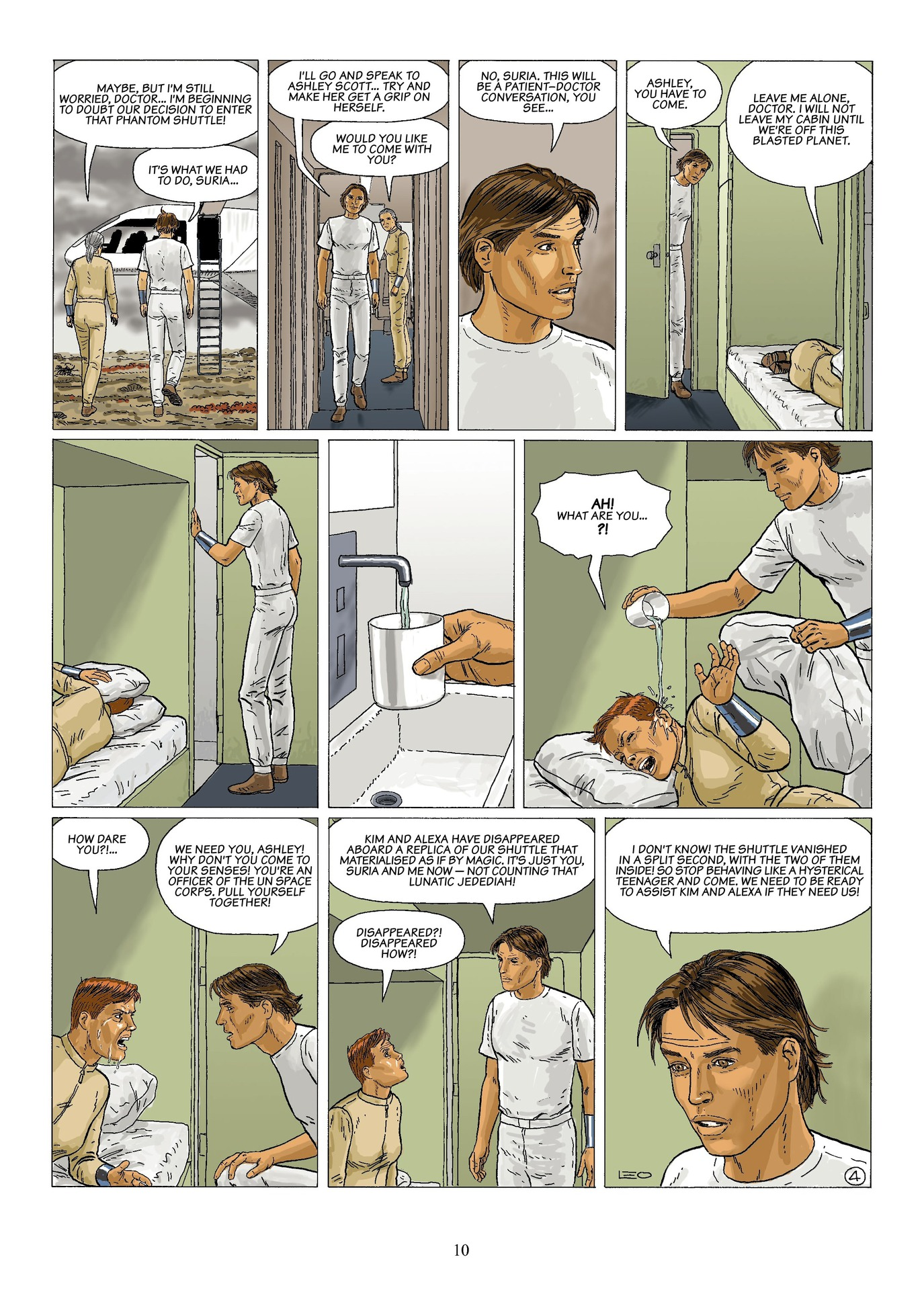 Read online Antares comic -  Issue #6 - 12