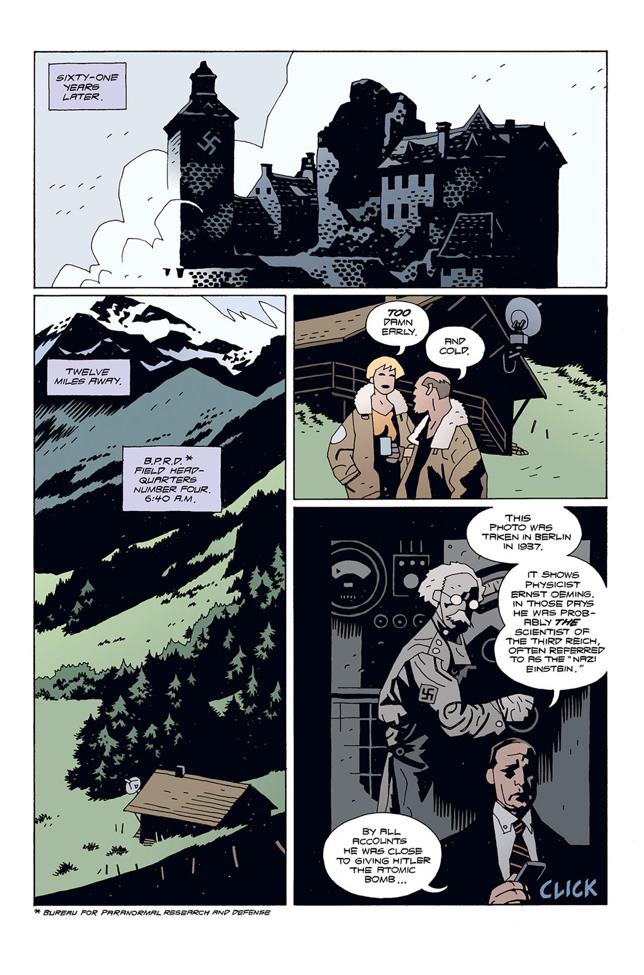 Read online Hellboy: Conqueror Worm comic -  Issue #1 - 9