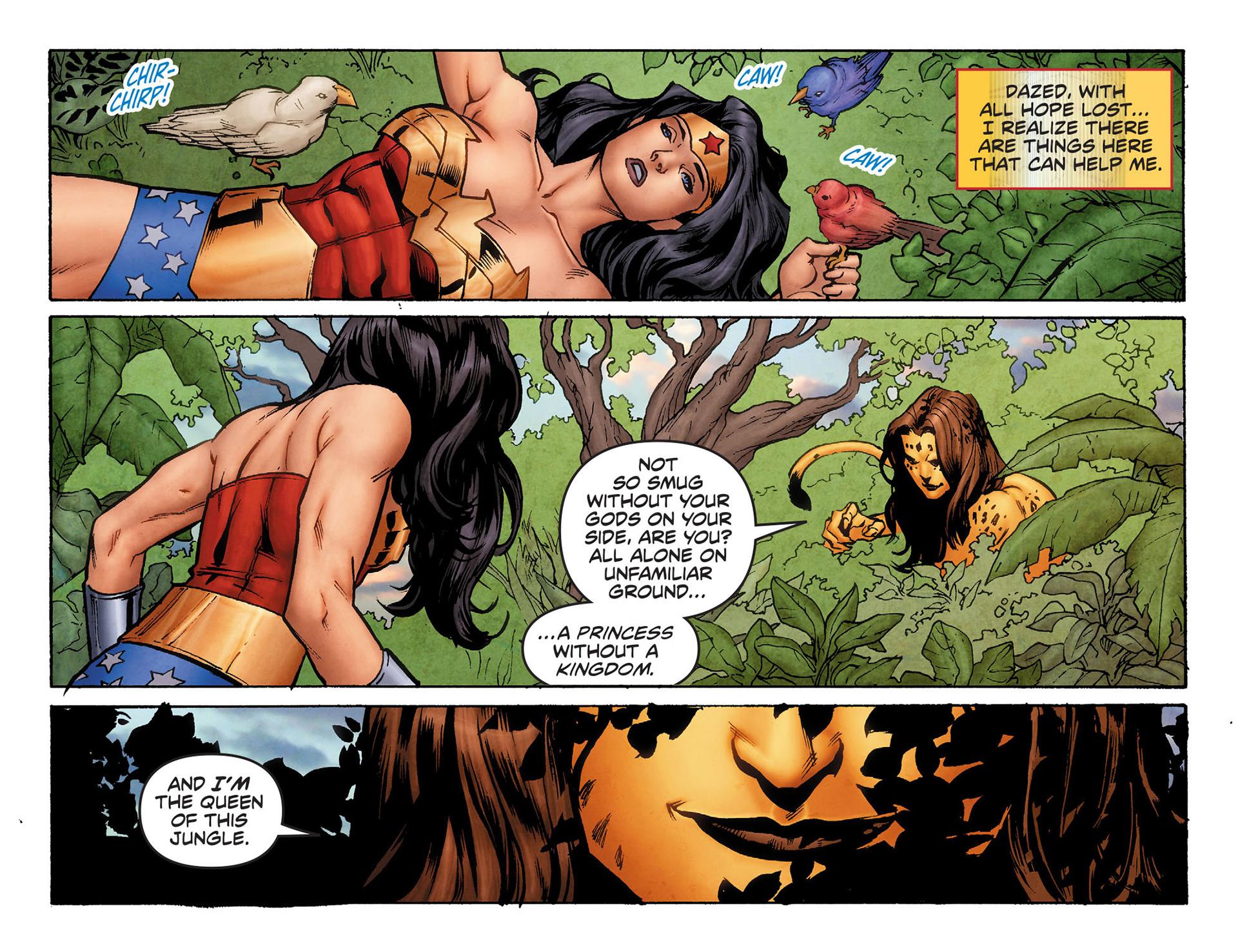 Read online Sensation Comics Featuring Wonder Woman comic -  Issue #6 - 12