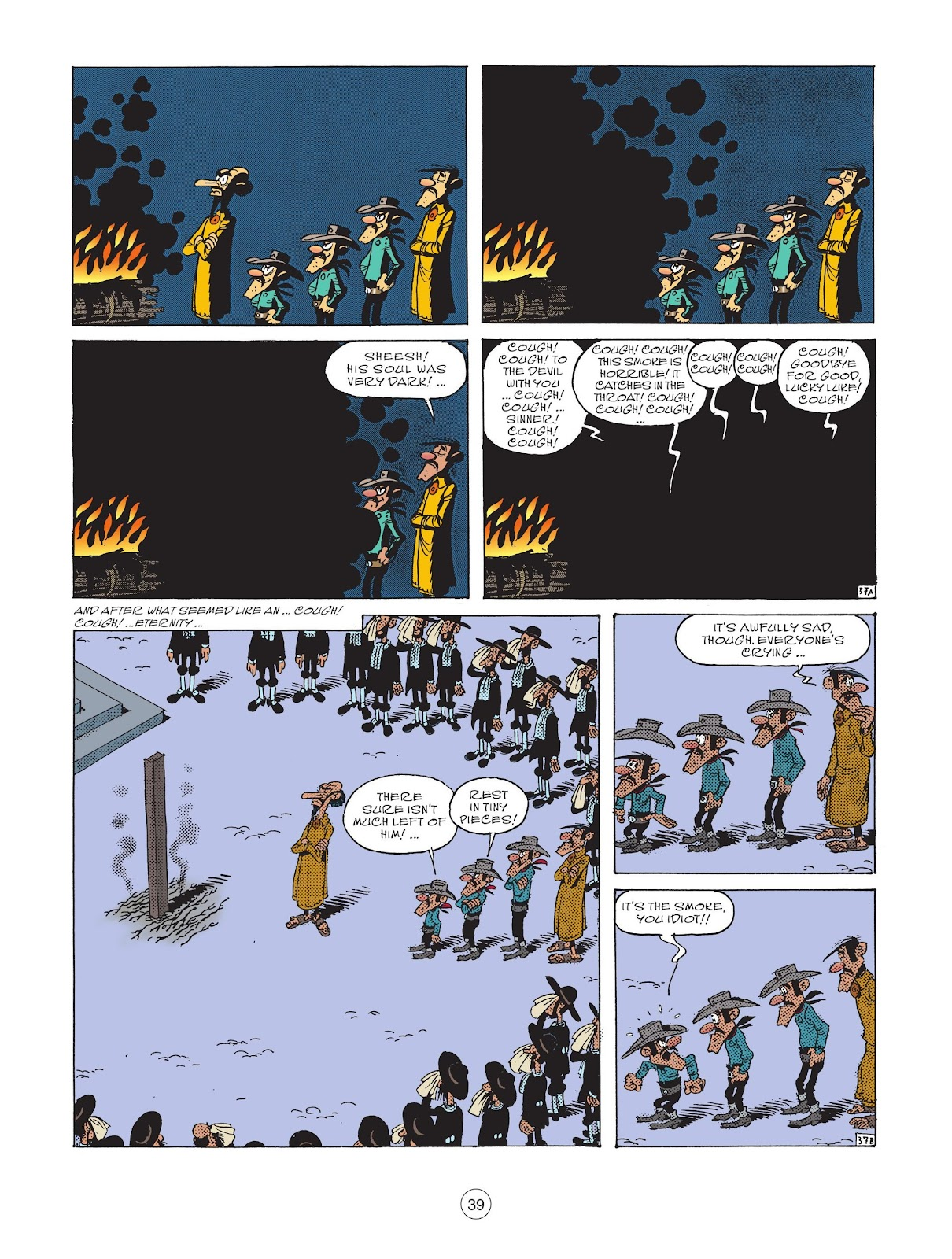 A Lucky Luke Adventure issue 73 - Page 41