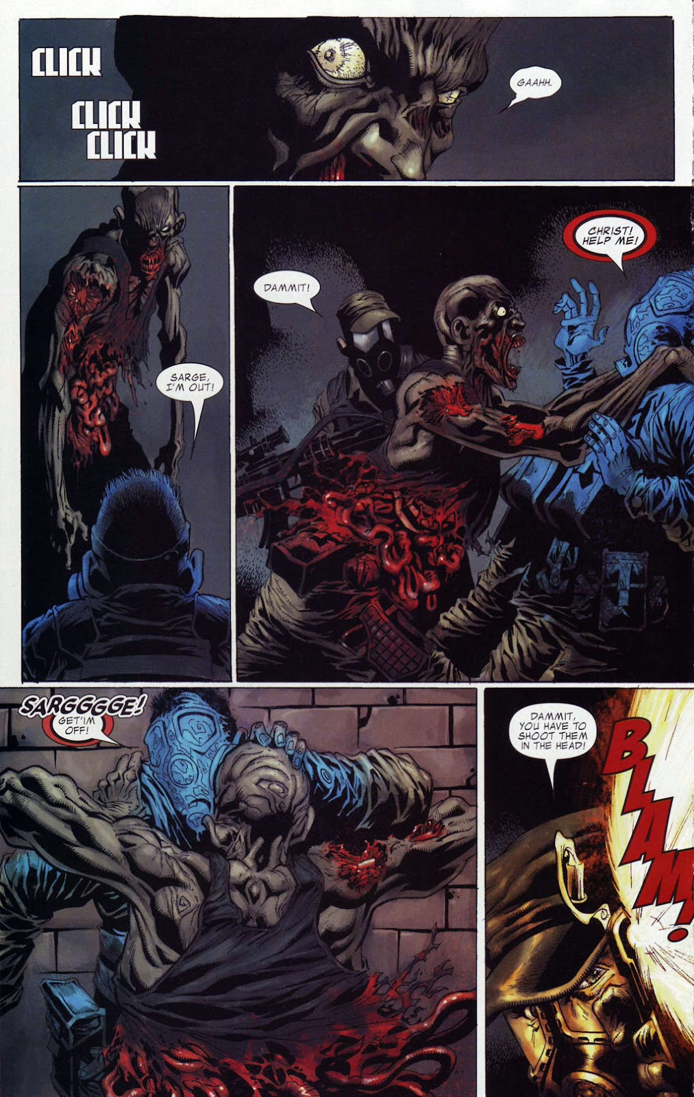 Read online Zombie (2006) comic -  Issue #4 - 12