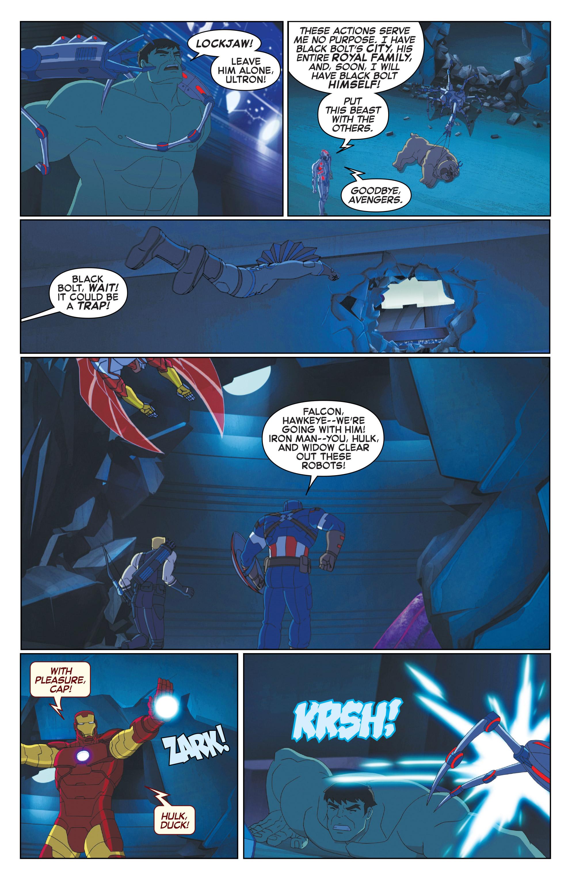 Read online Marvel Universe Avengers: Ultron Revolution comic -  Issue #10 - 11