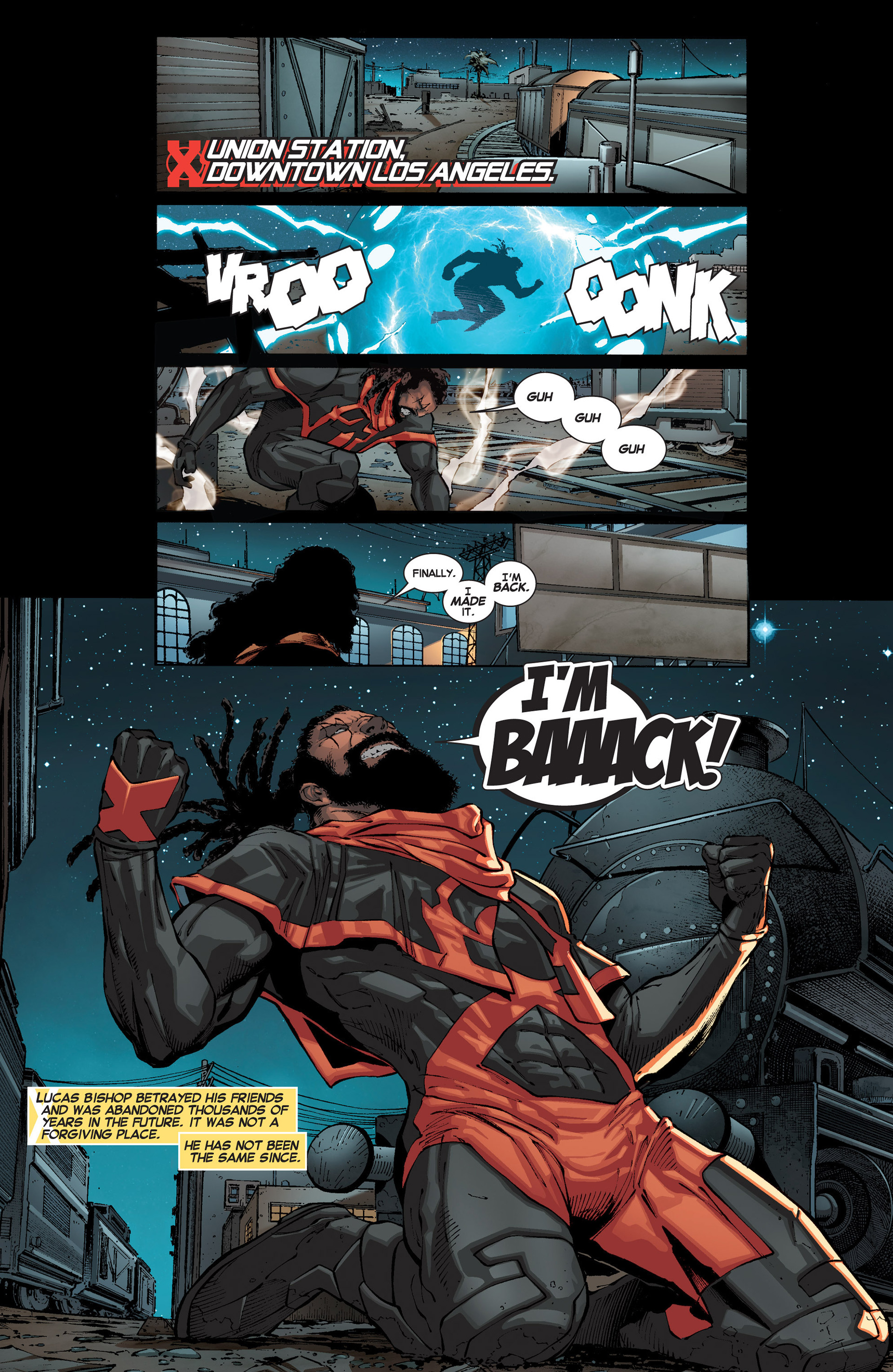 Read online Uncanny X-Force (2013) comic -  Issue #1 - 17