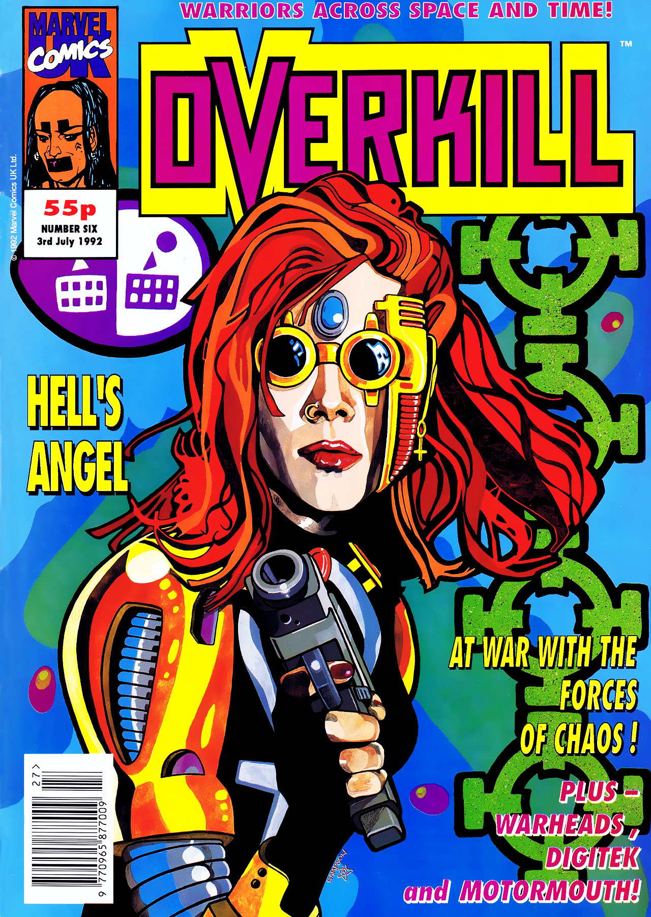 Read online Overkill comic -  Issue #6 - 1