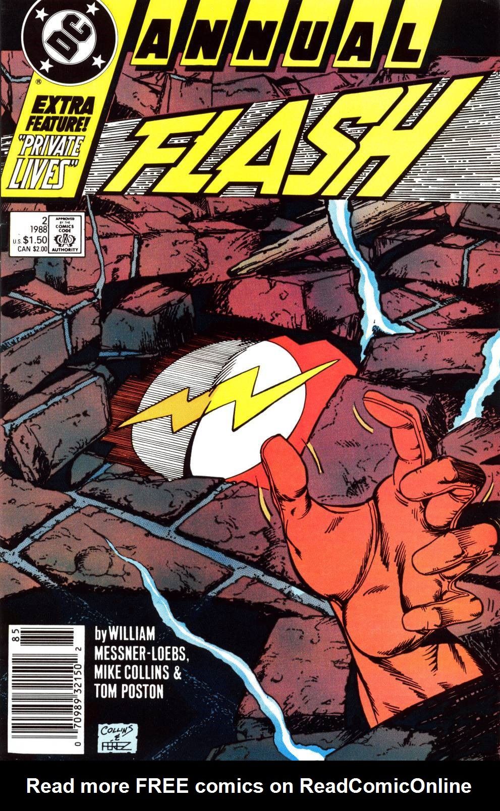 Read online The Flash (1987) comic -  Issue # _Annual 2 - 1