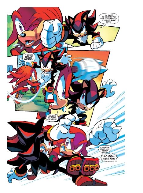 Read online Sonic Comics Spectacular: Speed of Sound comic -  Issue # Full - 214