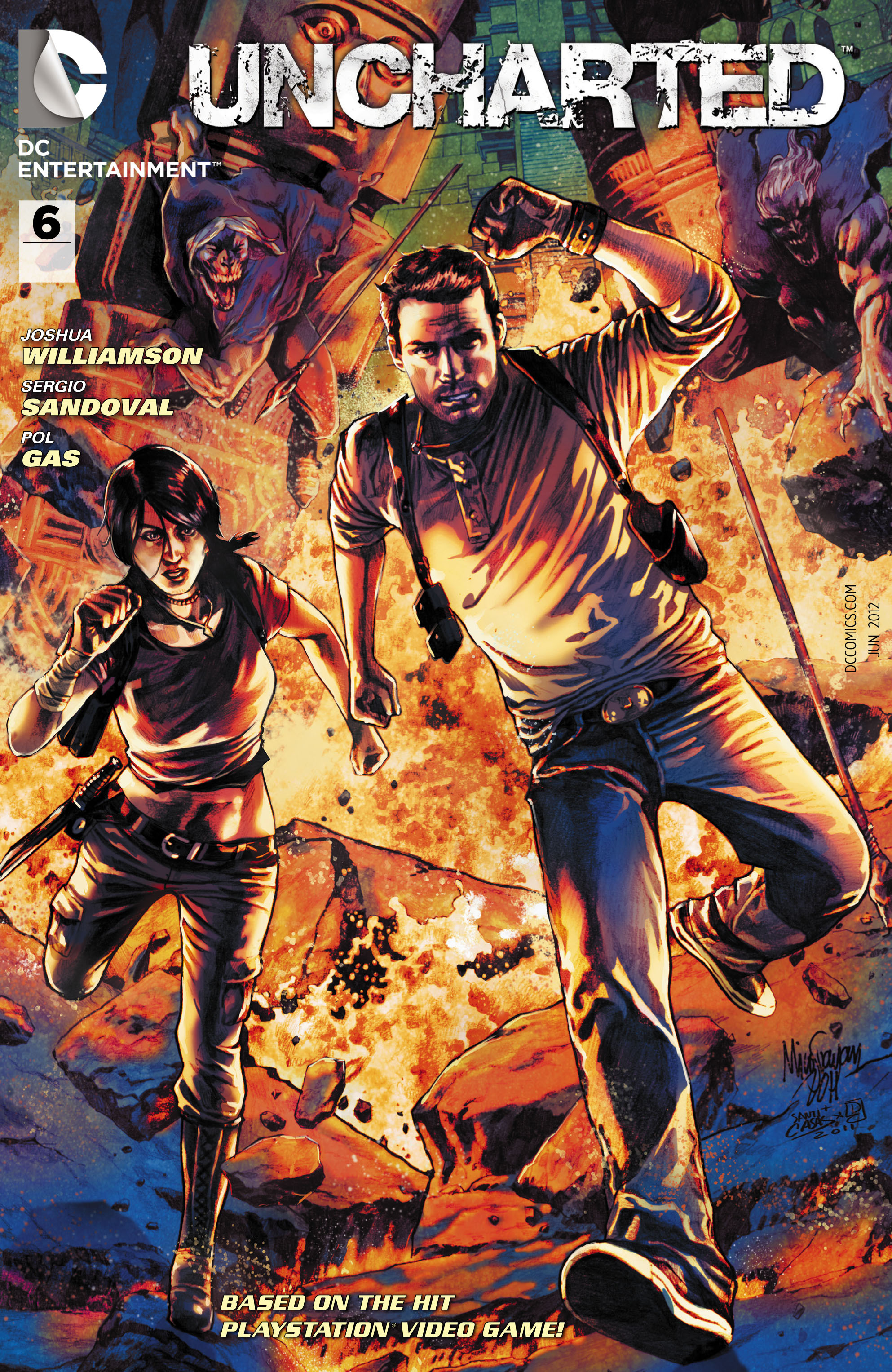 Read online Uncharted comic -  Issue #6 - 2