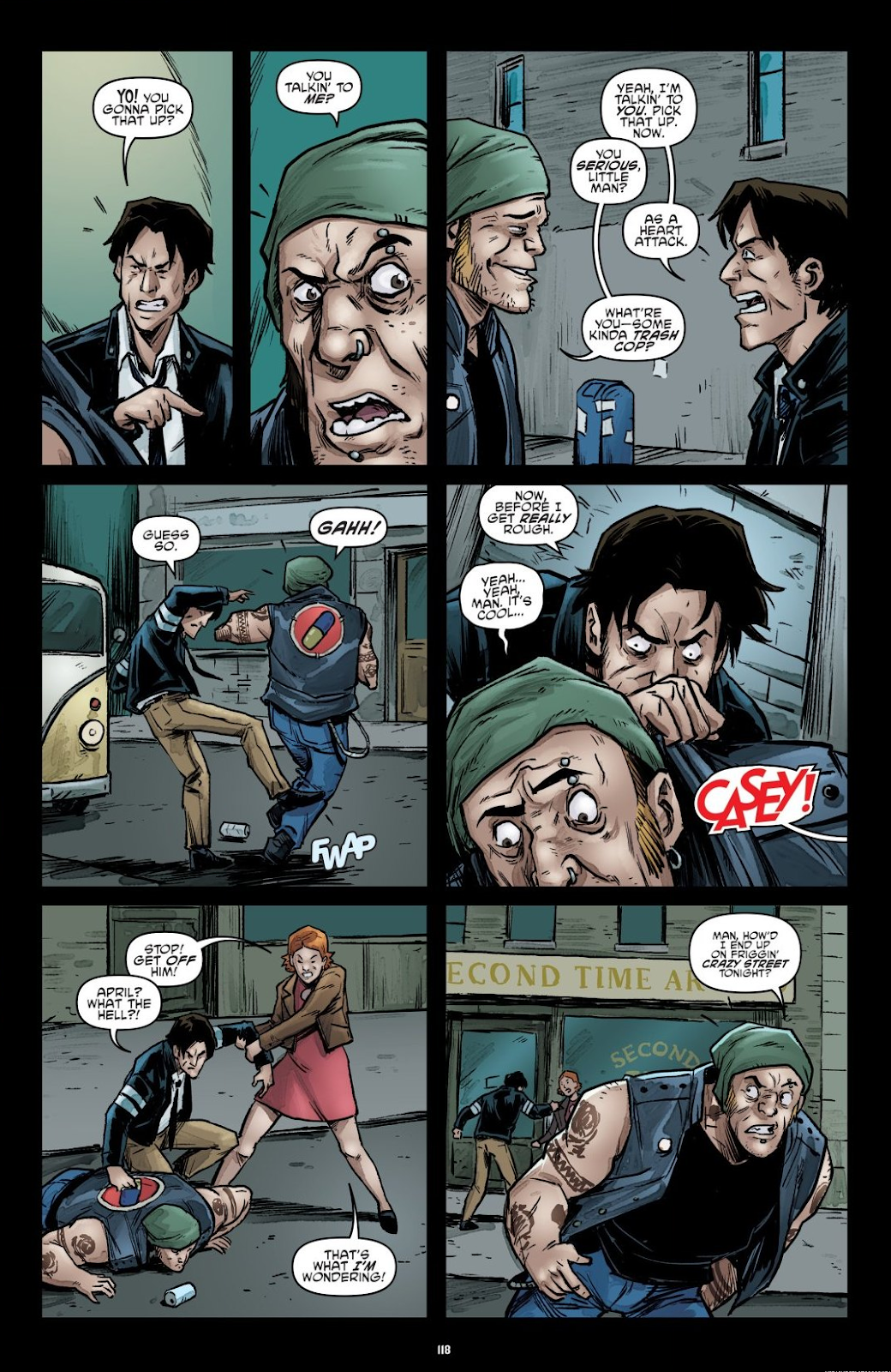 Read online Teenage Mutant Ninja Turtles: The IDW Collection comic -  Issue # TPB 7 (Part 2) - 14
