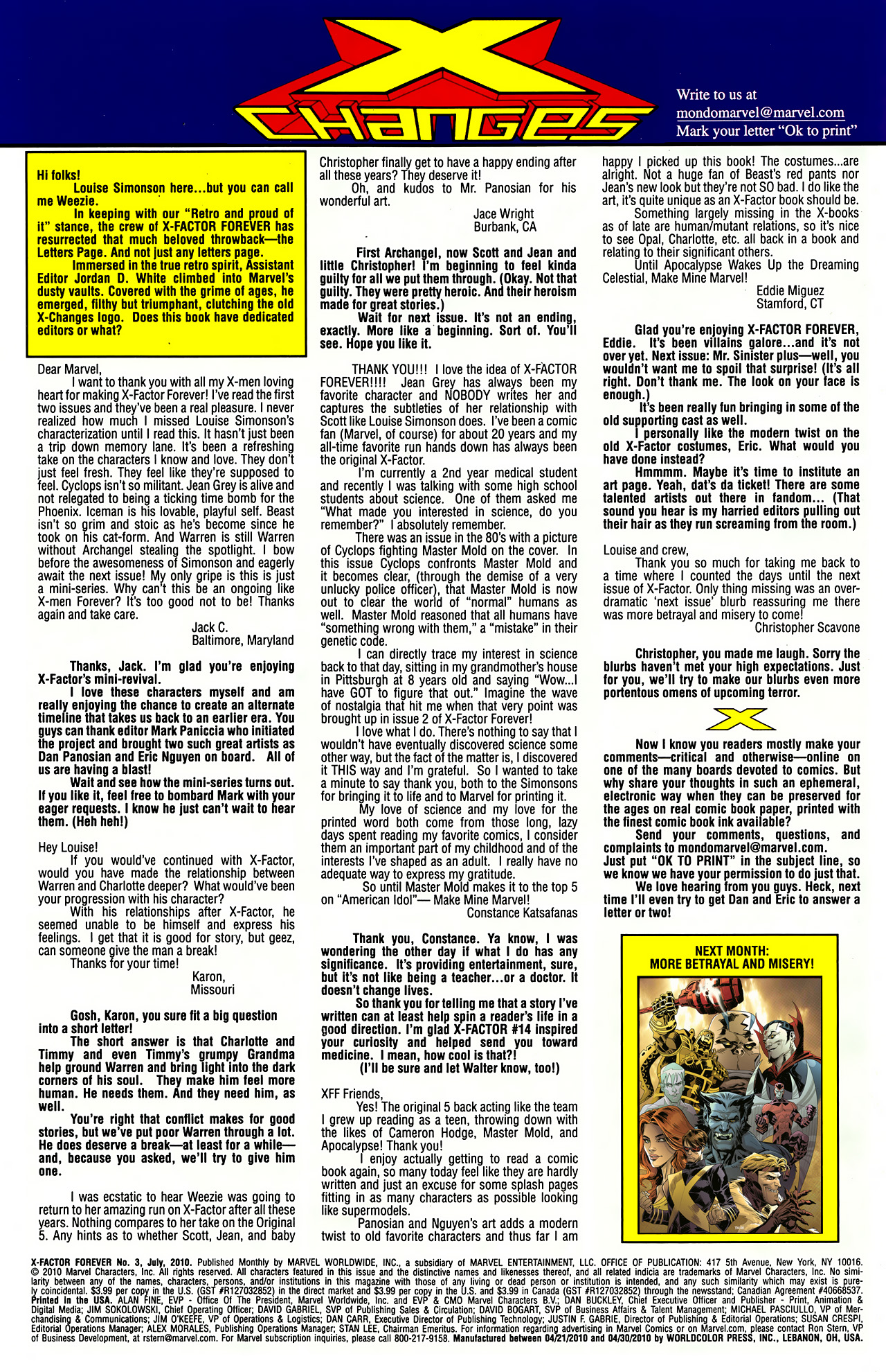 Read online X-Factor Forever comic -  Issue #3 - 22