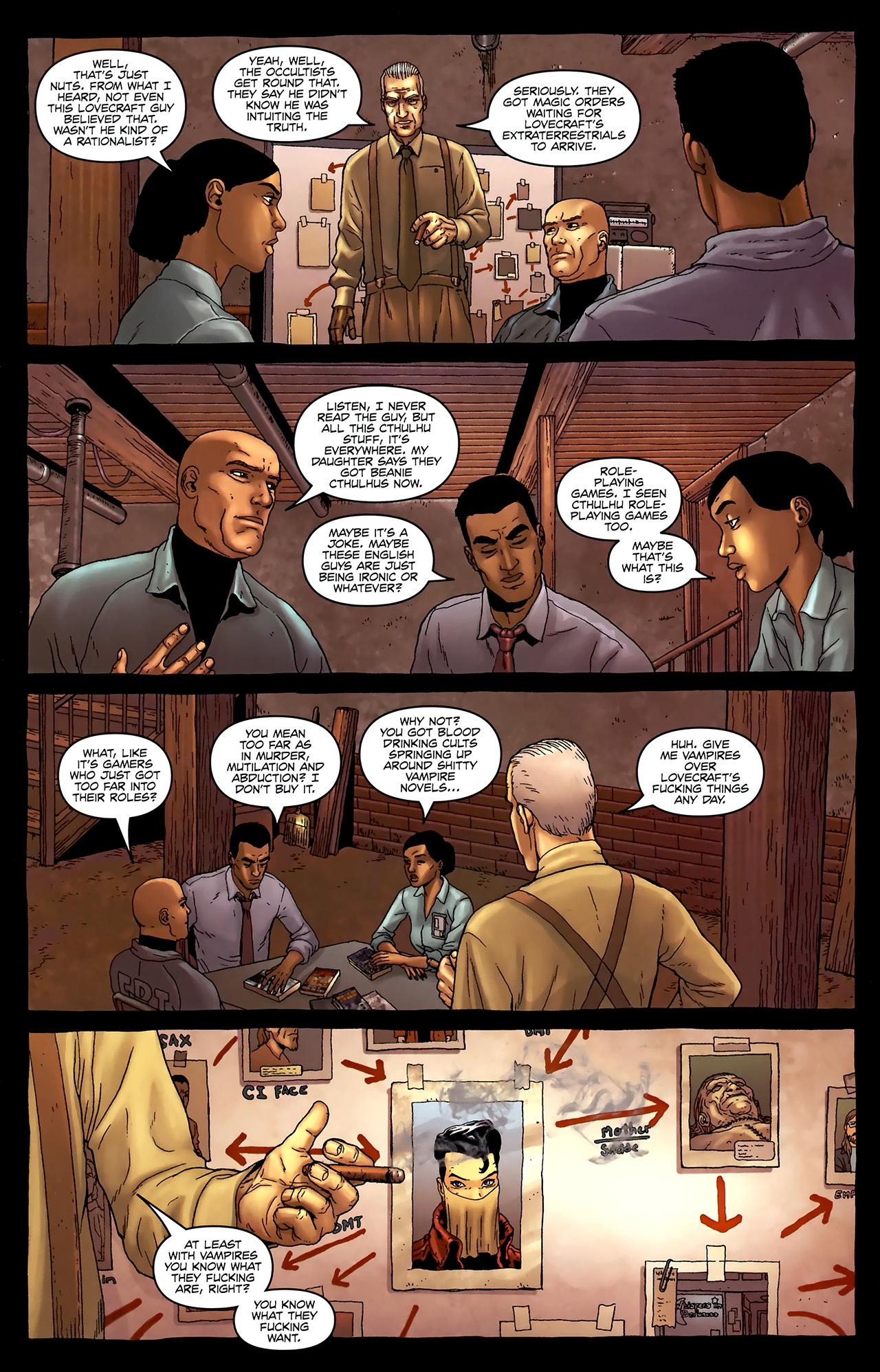 Read online Alan Moore's Neonomicon comic -  Issue #3 - 19
