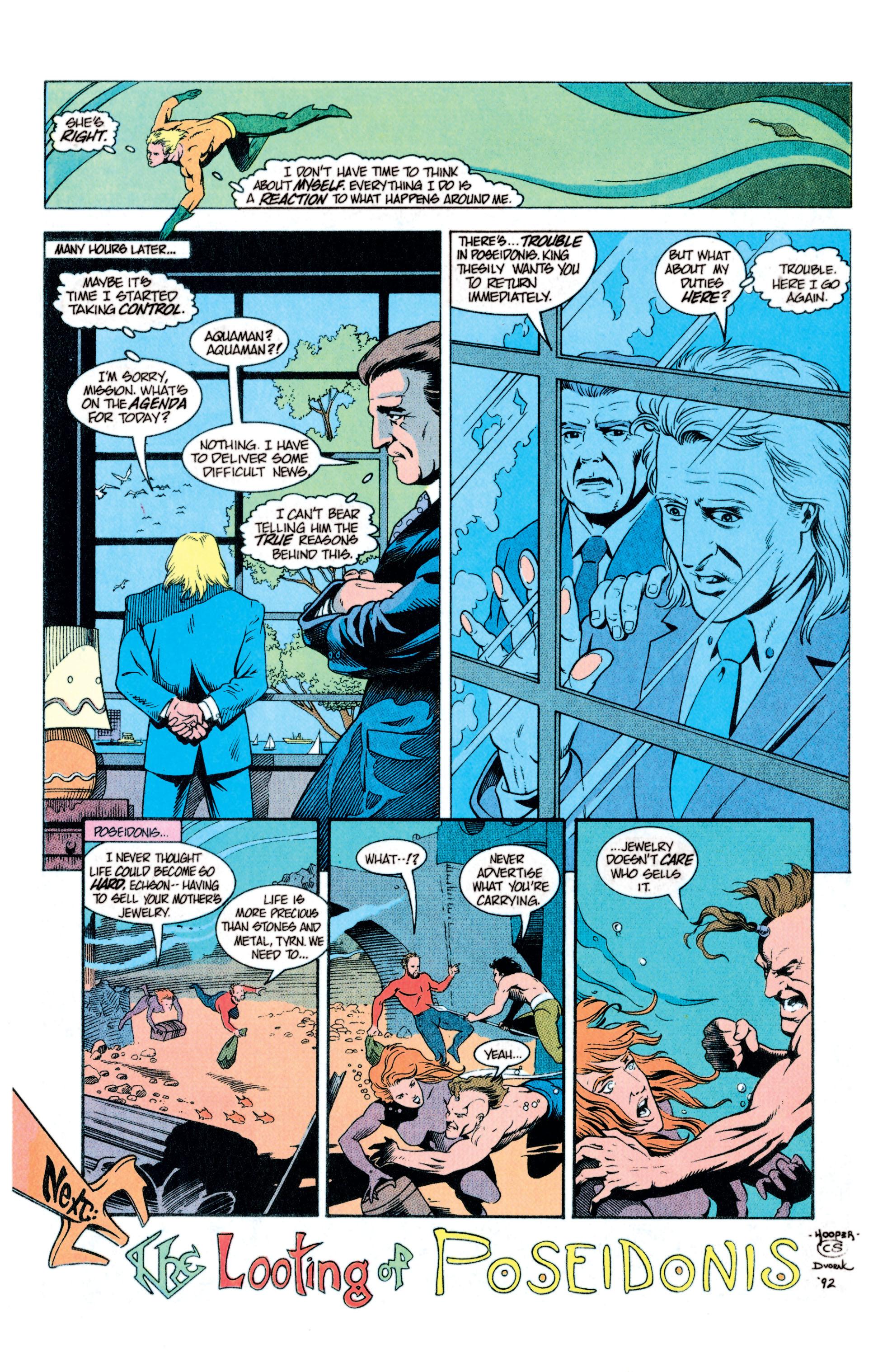 Read online Aquaman (1991) comic -  Issue #11 - 23