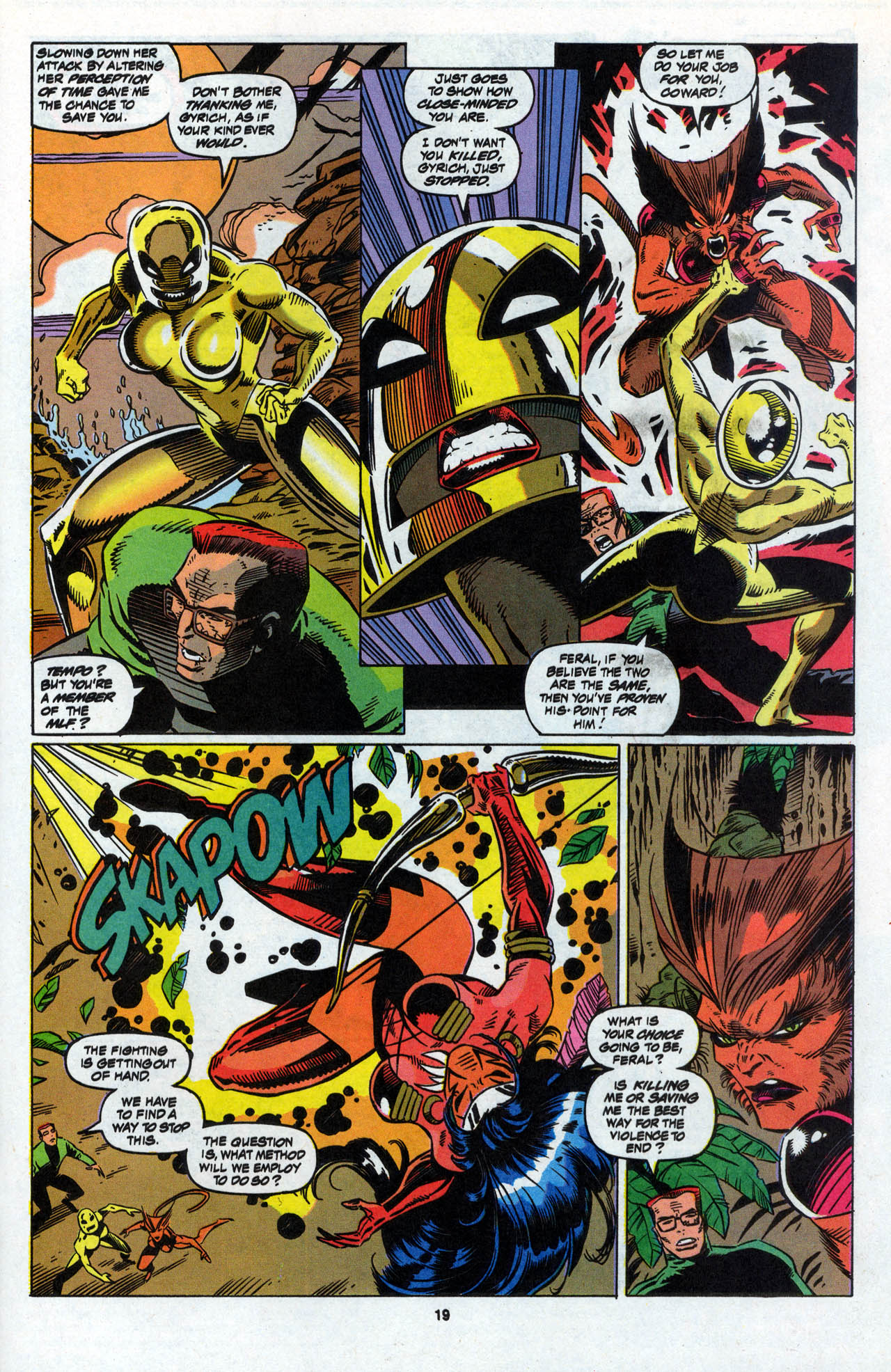 Read online X-Force (1991) comic -  Issue #28 - 20
