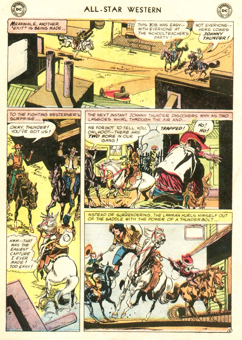 Read online All-Star Western (1951) comic -  Issue #91 - 24