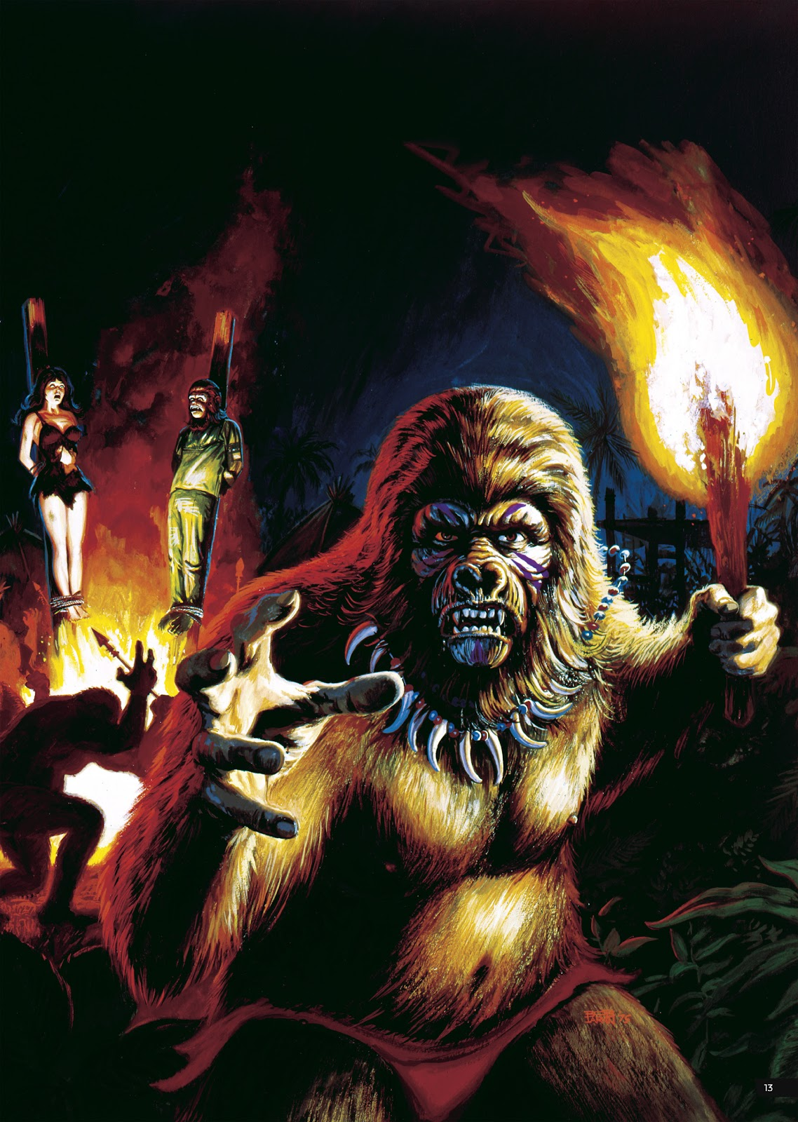 Read online Planet of the Apes Artist Tribute comic -  Issue # TPB - 13