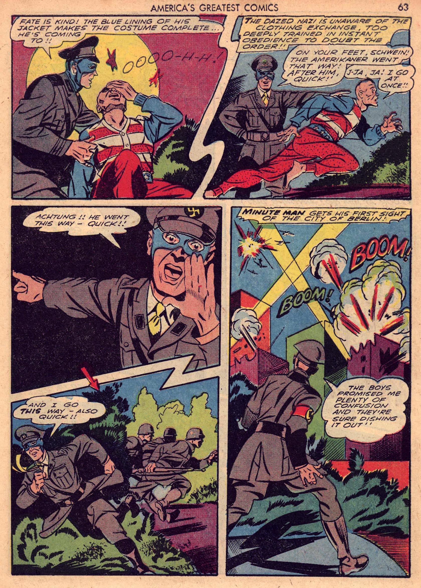 Read online America's Greatest Comics comic -  Issue #7 - 62