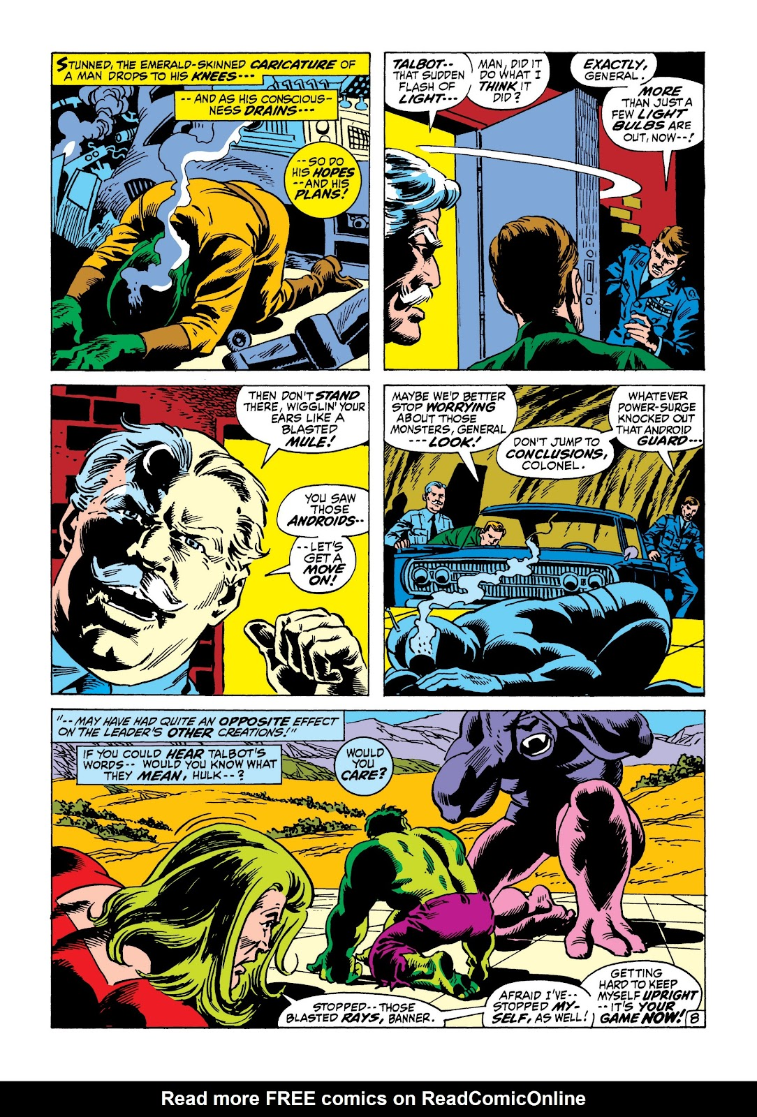 Read online Marvel Masterworks: The Incredible Hulk comic -  Issue # TPB 8 (Part 1) - 71