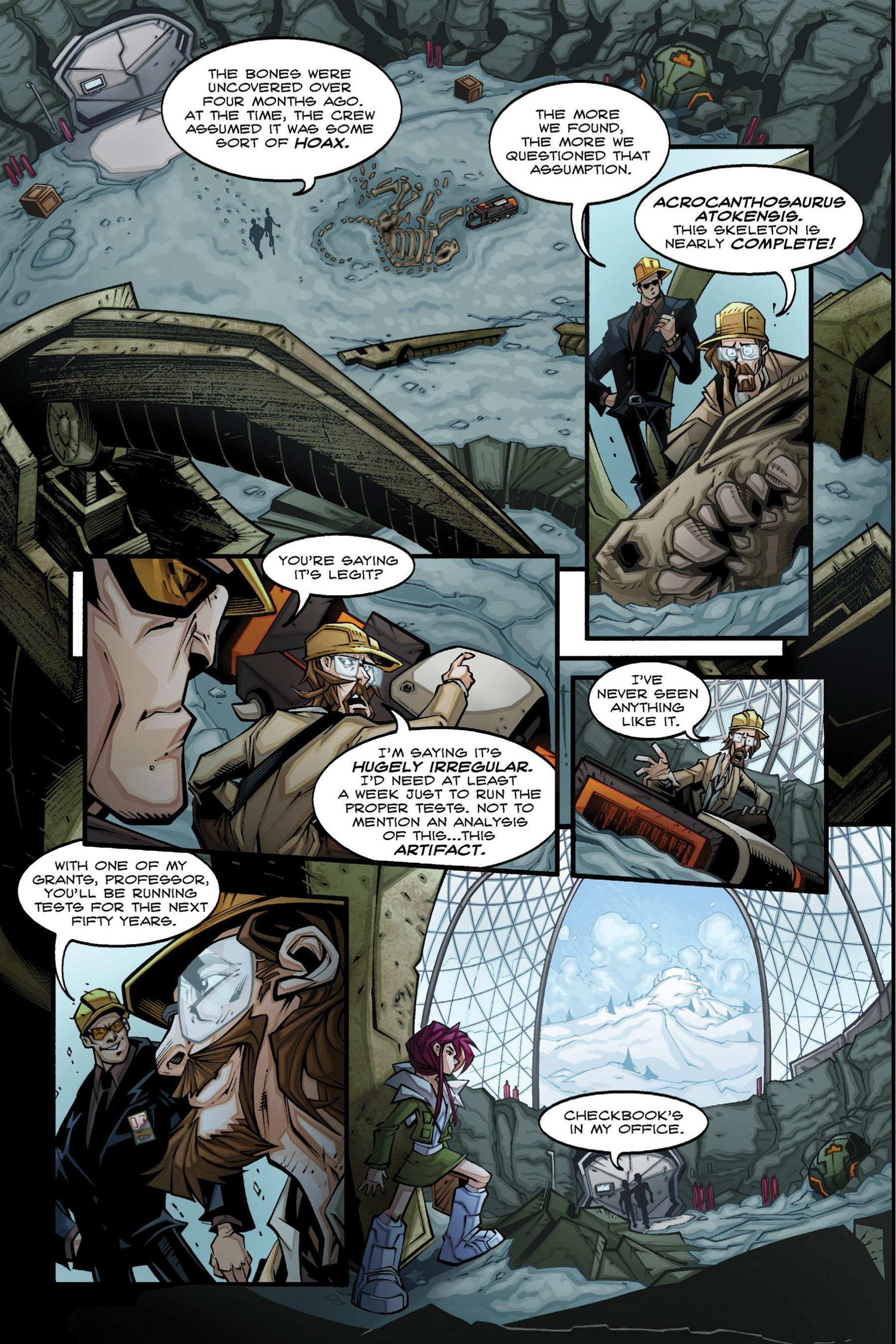 Read online Rexodus comic -  Issue # Full - 20