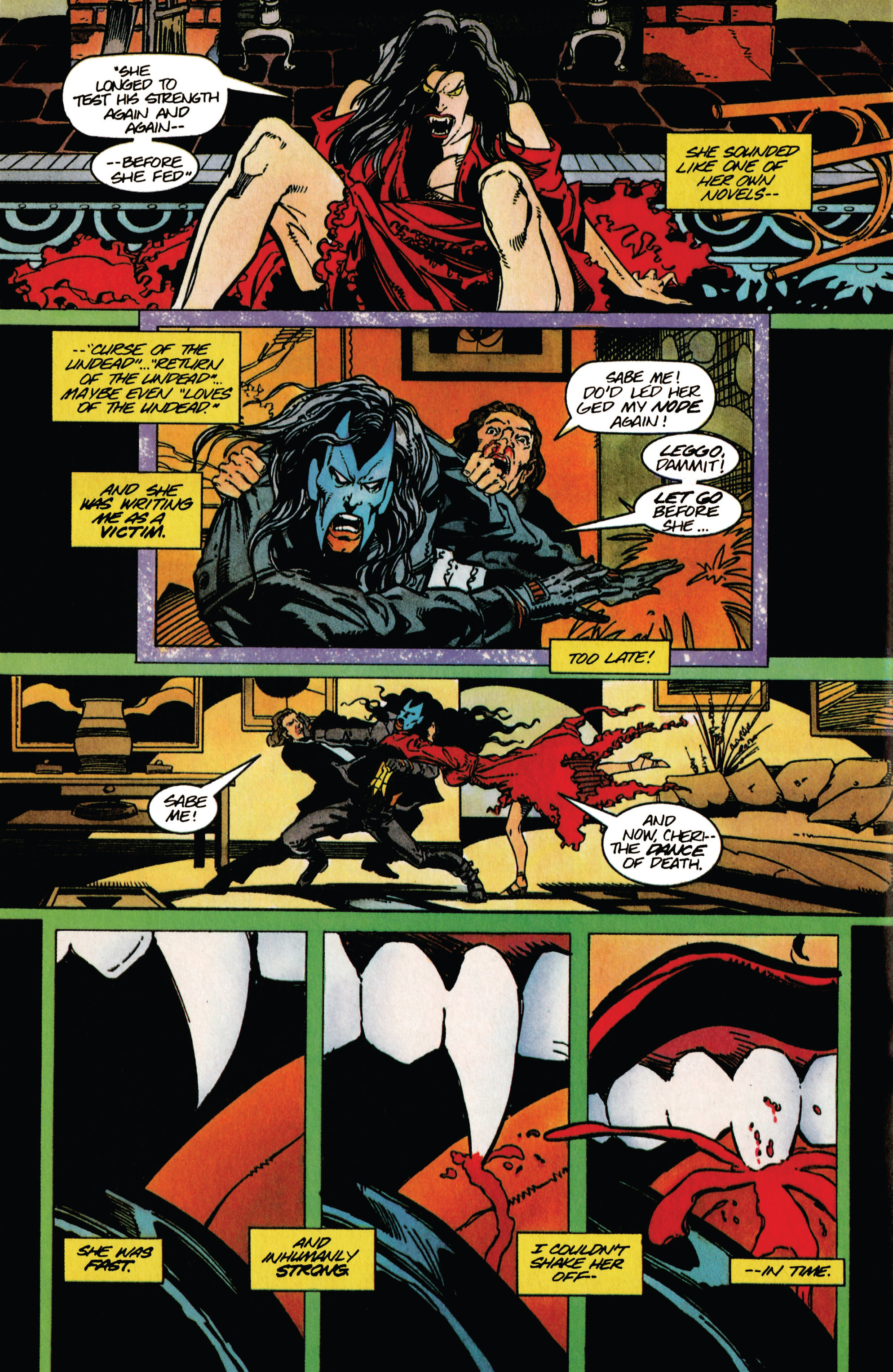 Read online Shadowman (1992) comic -  Issue #40 - 16