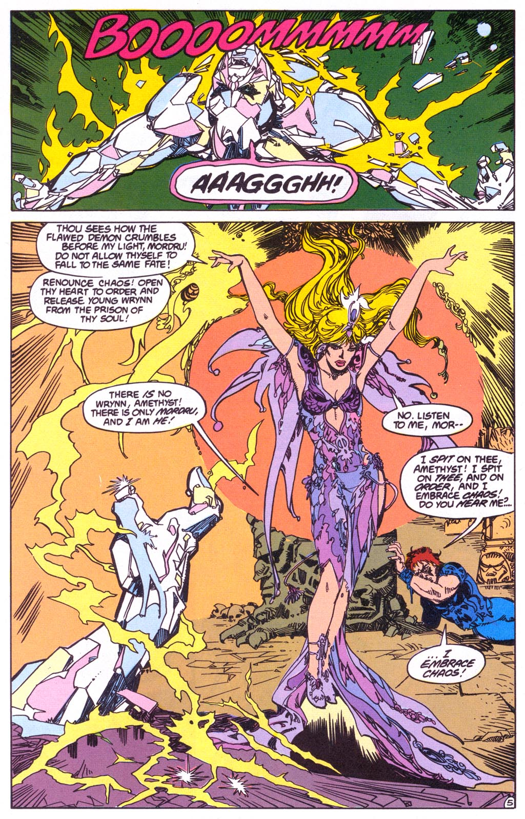 Read online Amethyst (1987) comic -  Issue #3 - 7