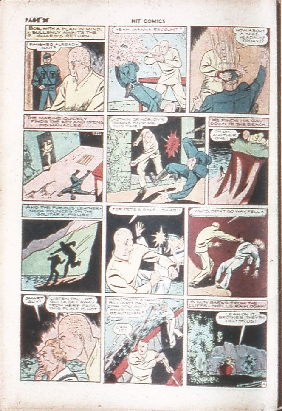 Read online Hit Comics comic -  Issue #7 - 22