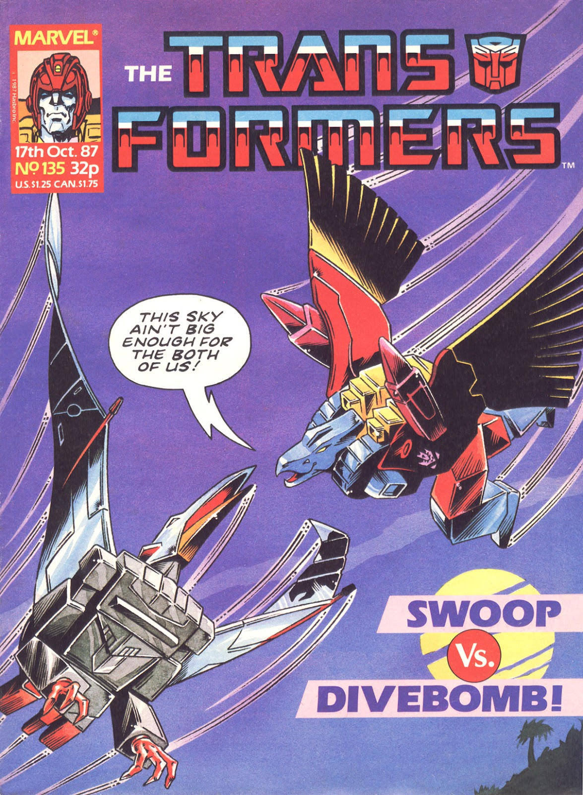The Transformers (UK) 135 Page 1