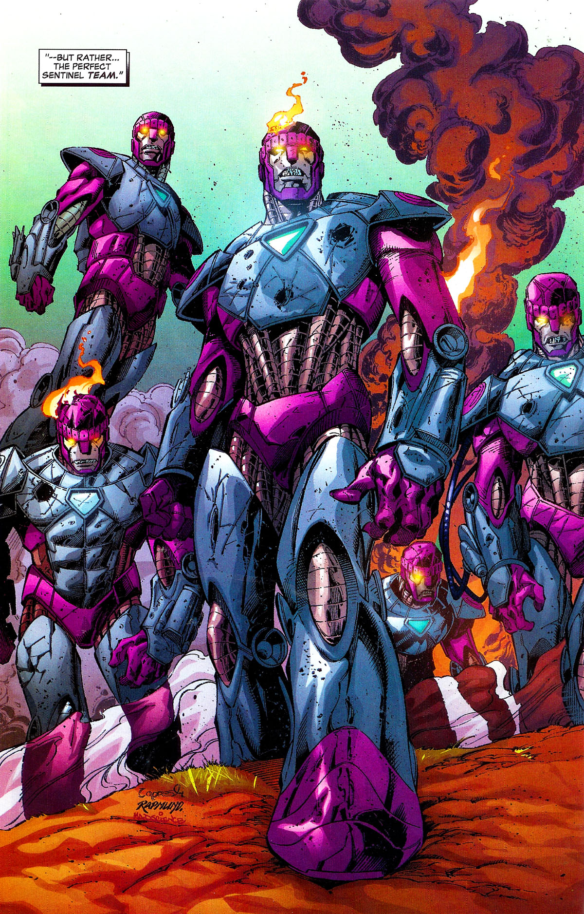 Read online Sentinel Squad O*N*E comic -  Issue #1 - 18