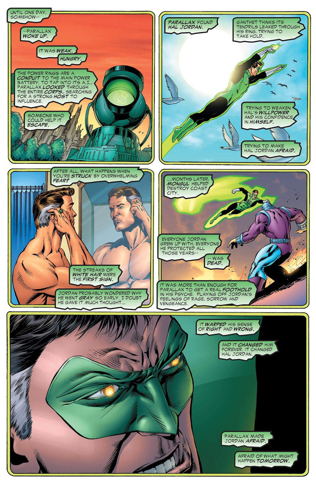 Read online Green Lantern by Geoff Johns comic -  Issue # TPB 1 (Part 1) - 82
