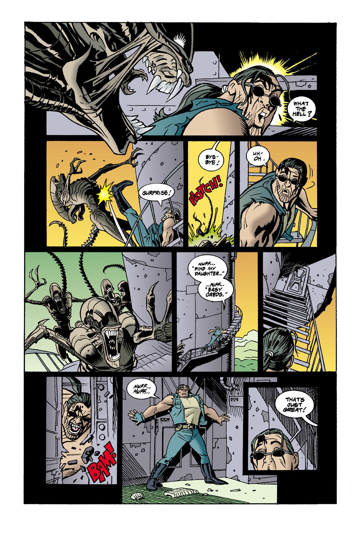 Read online Aliens: Mondo Heat comic -  Issue # Full - 7