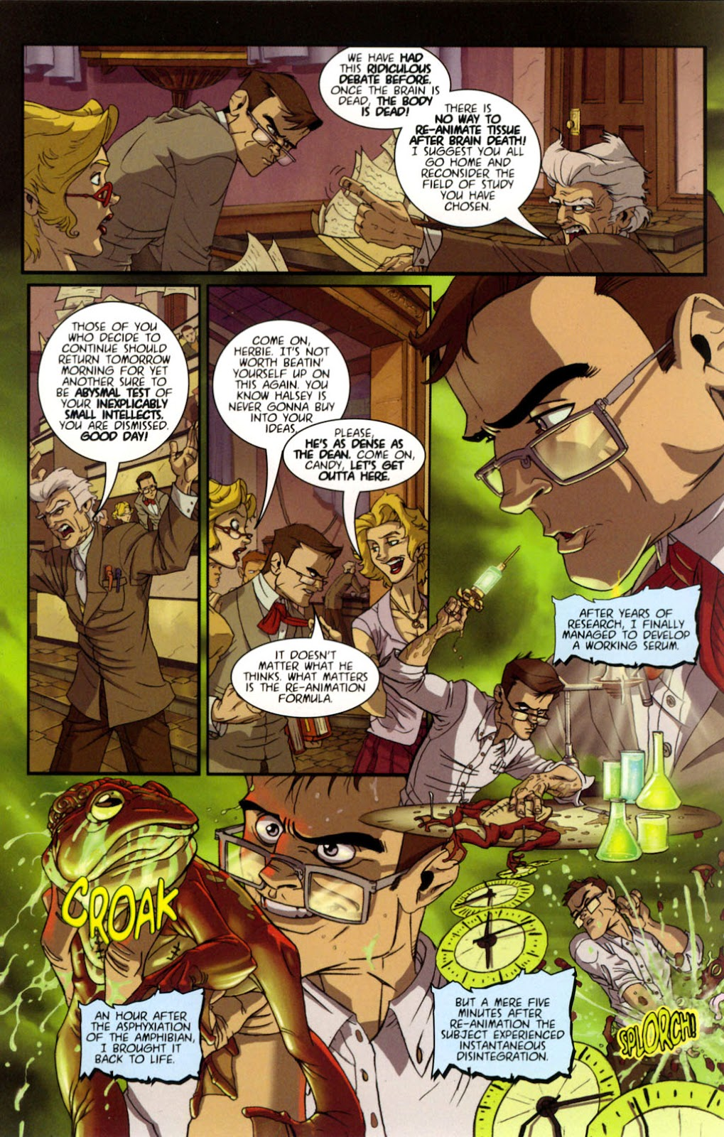Read online Re-Animator comic -  Issue # Full - 5