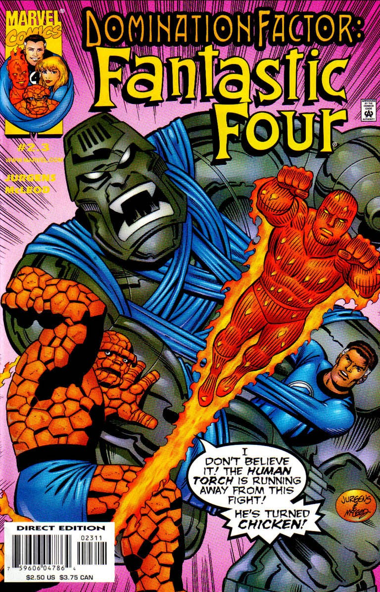 Domination Factor: Fantastic Four 2 Page 1