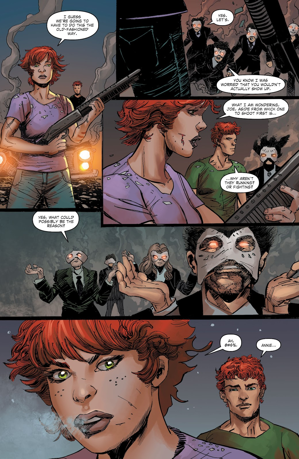 Read online The Curse of Brimstone: Ashes comic -  Issue # TPB (Part 2) - 35