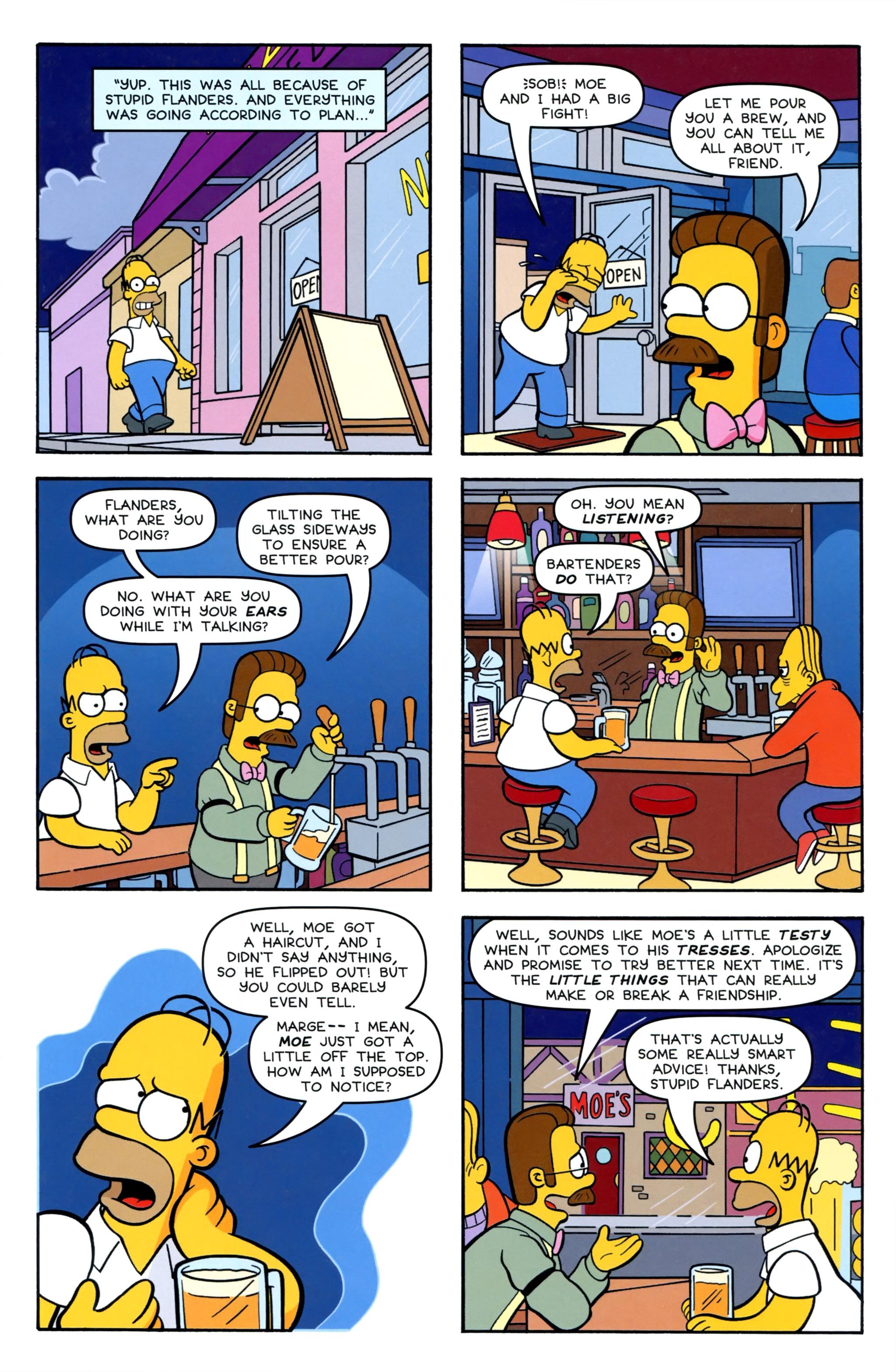 Read online Simpsons Comics comic -  Issue #220 - 15