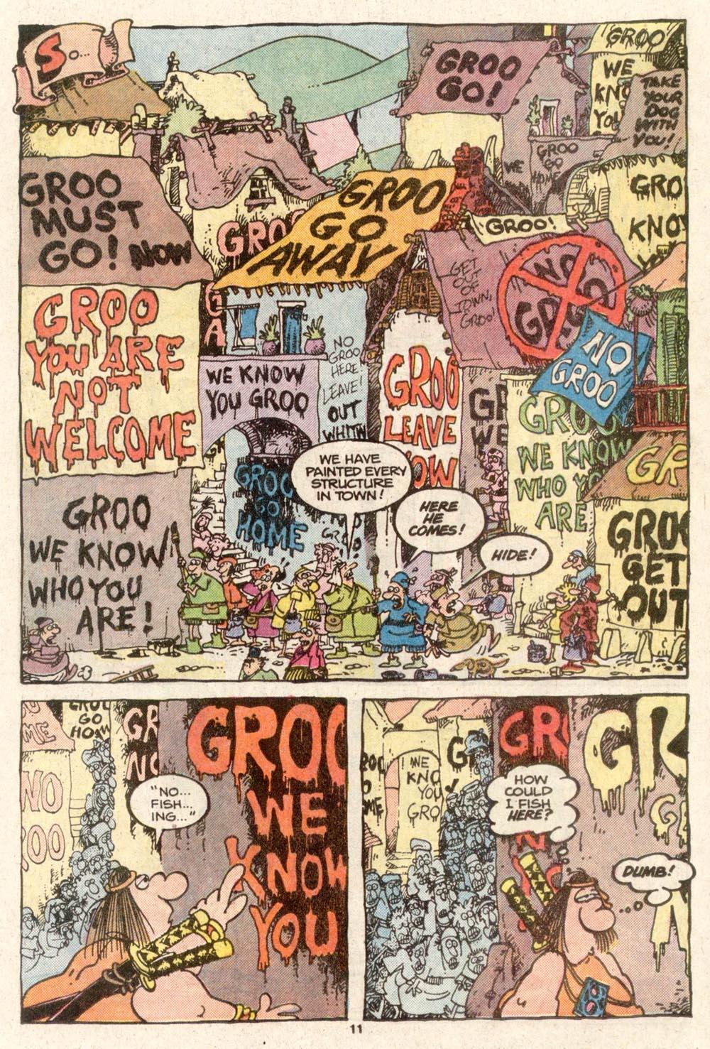 Read online Sergio Aragonés Groo the Wanderer comic -  Issue #48 - 11