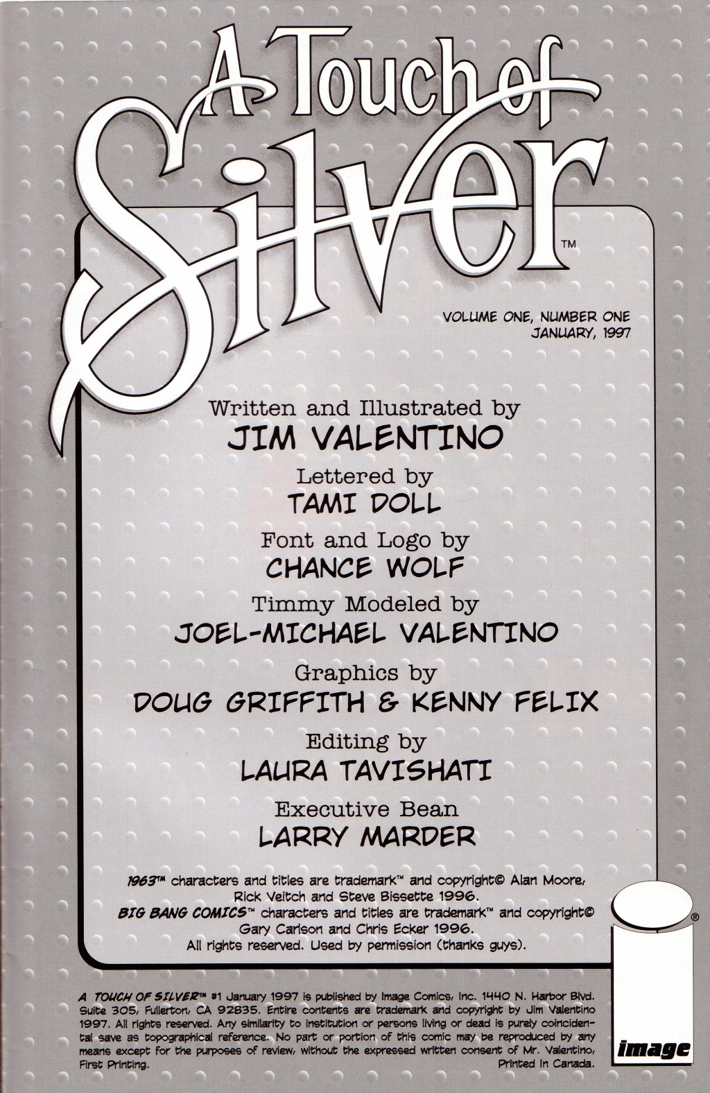 Read online A Touch of Silver comic -  Issue #1 - 23