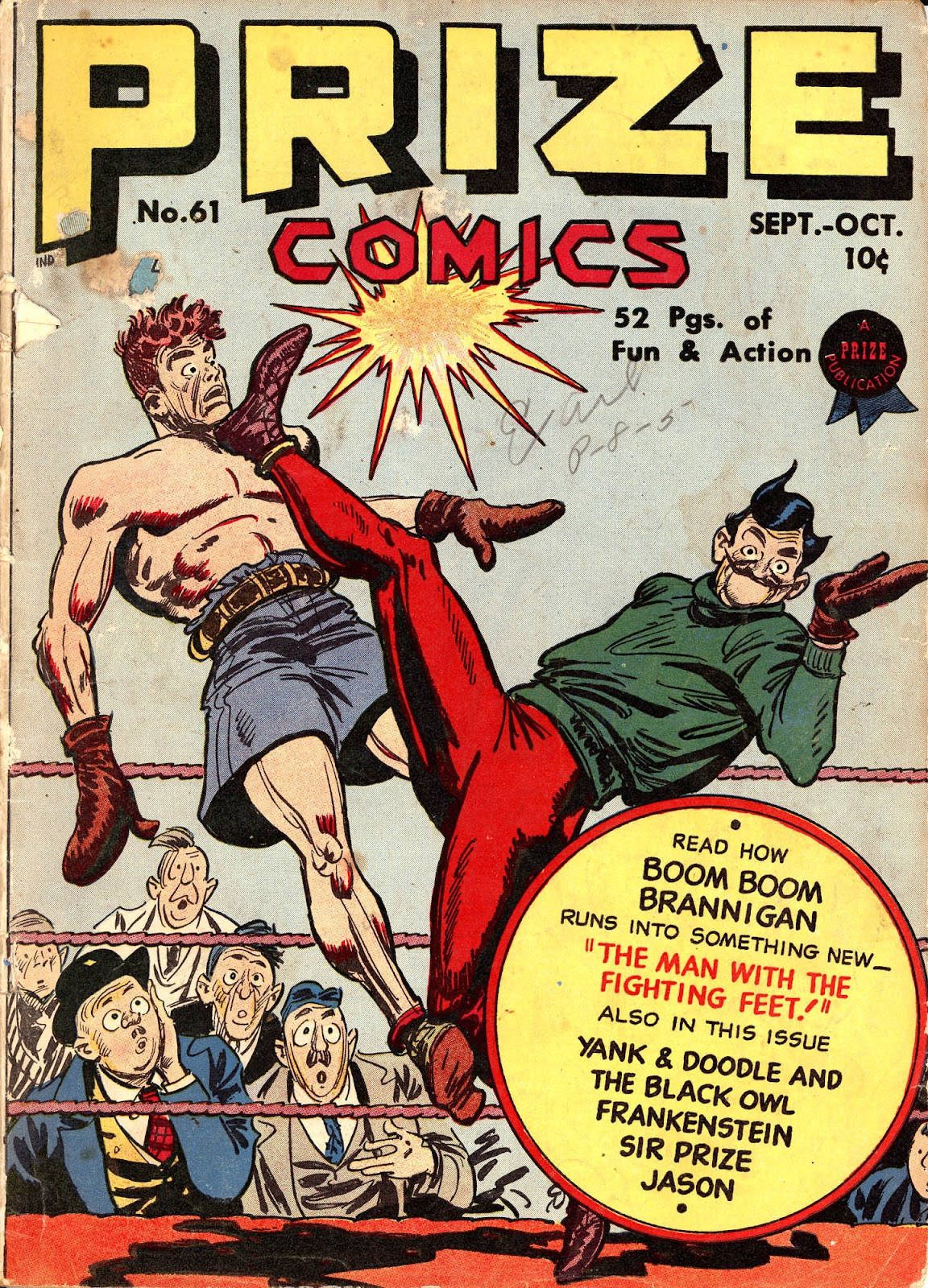 Prize Comics 61 Page 1