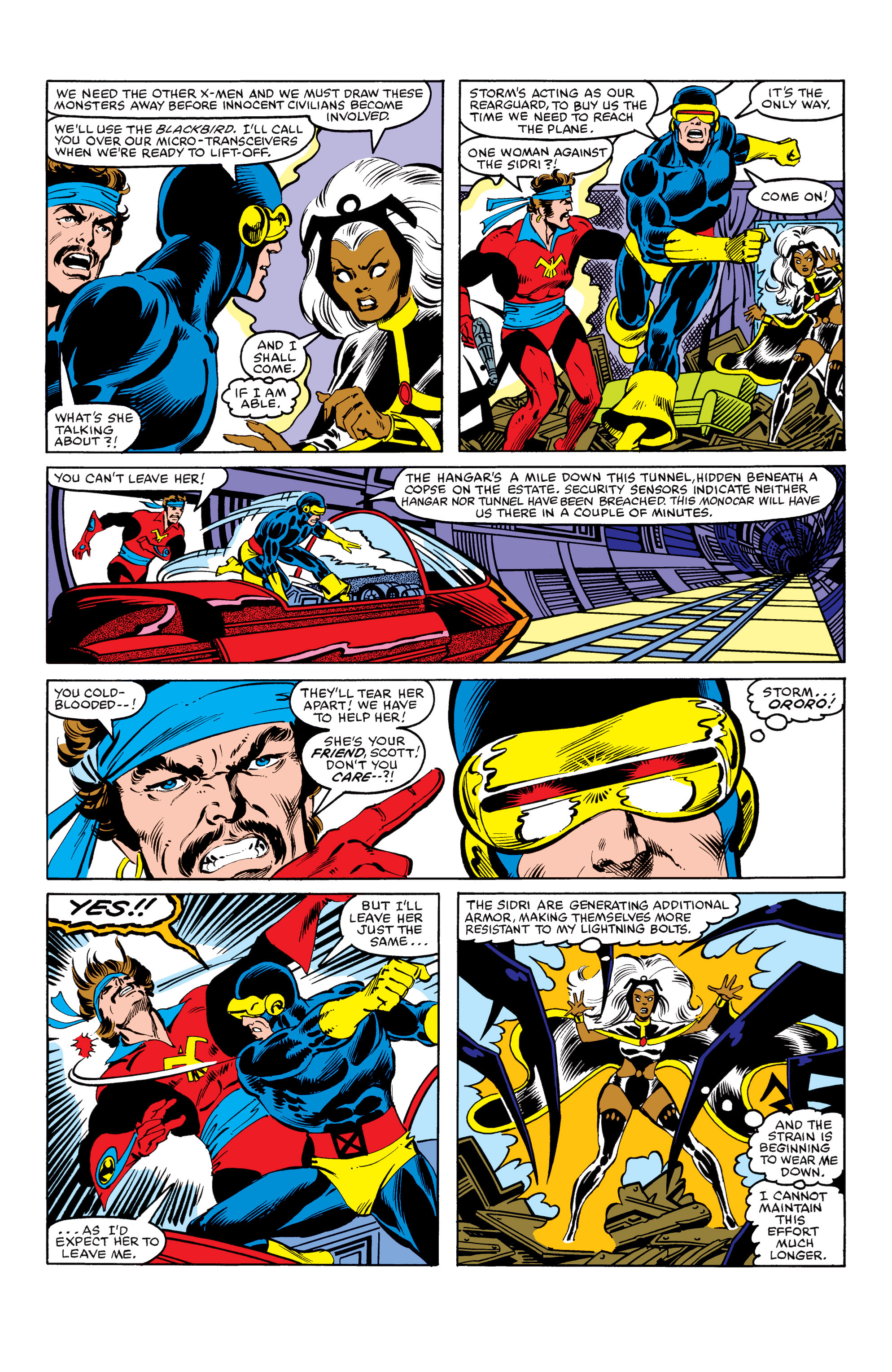 Read online Uncanny X-Men (1963) comic -  Issue #154 - 14